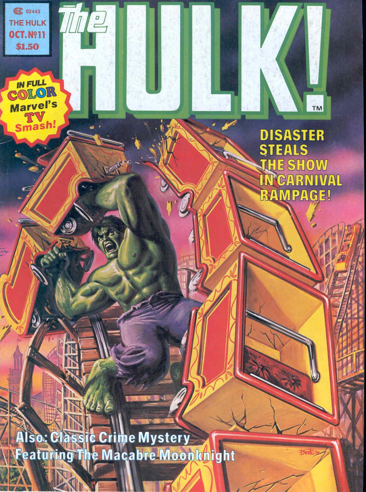Hulk (1978) 11 Page 1