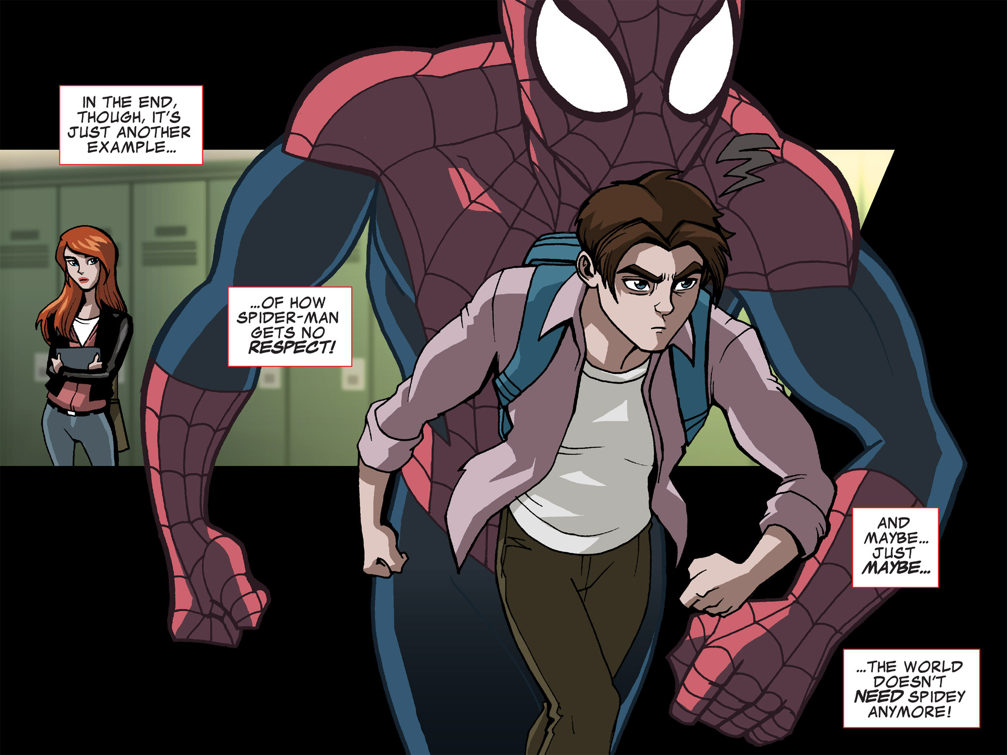 Read online Ultimate Spider-Man (Infinite Comics) (2015) comic -  Issue #15 - 41