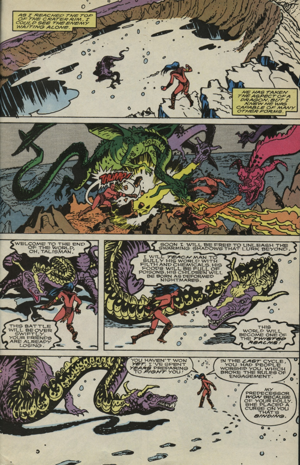 Read online Alpha Flight (1983) comic -  Issue #83 - 22