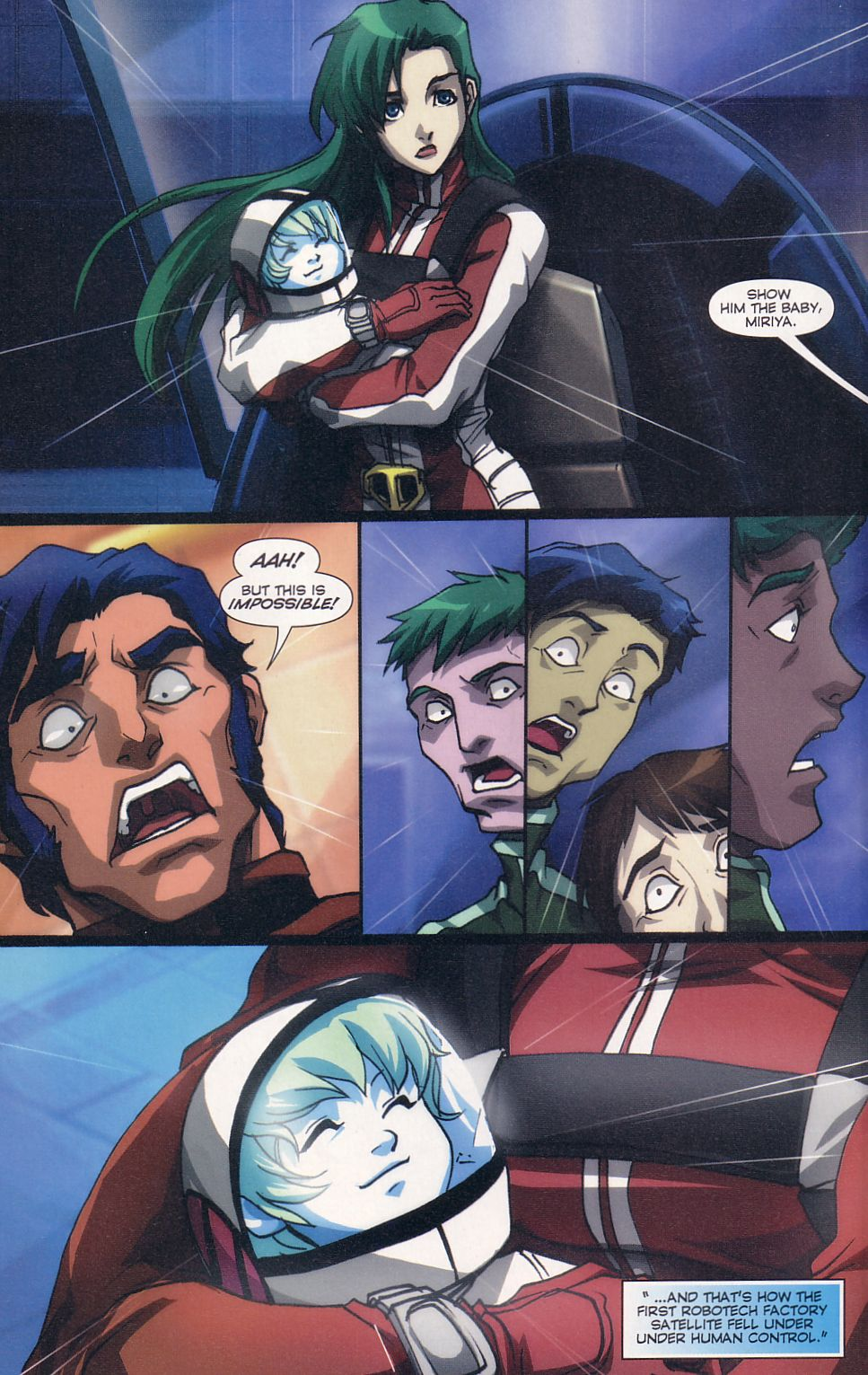 Read online Robotech: Love and War comic -  Issue #6 - 17