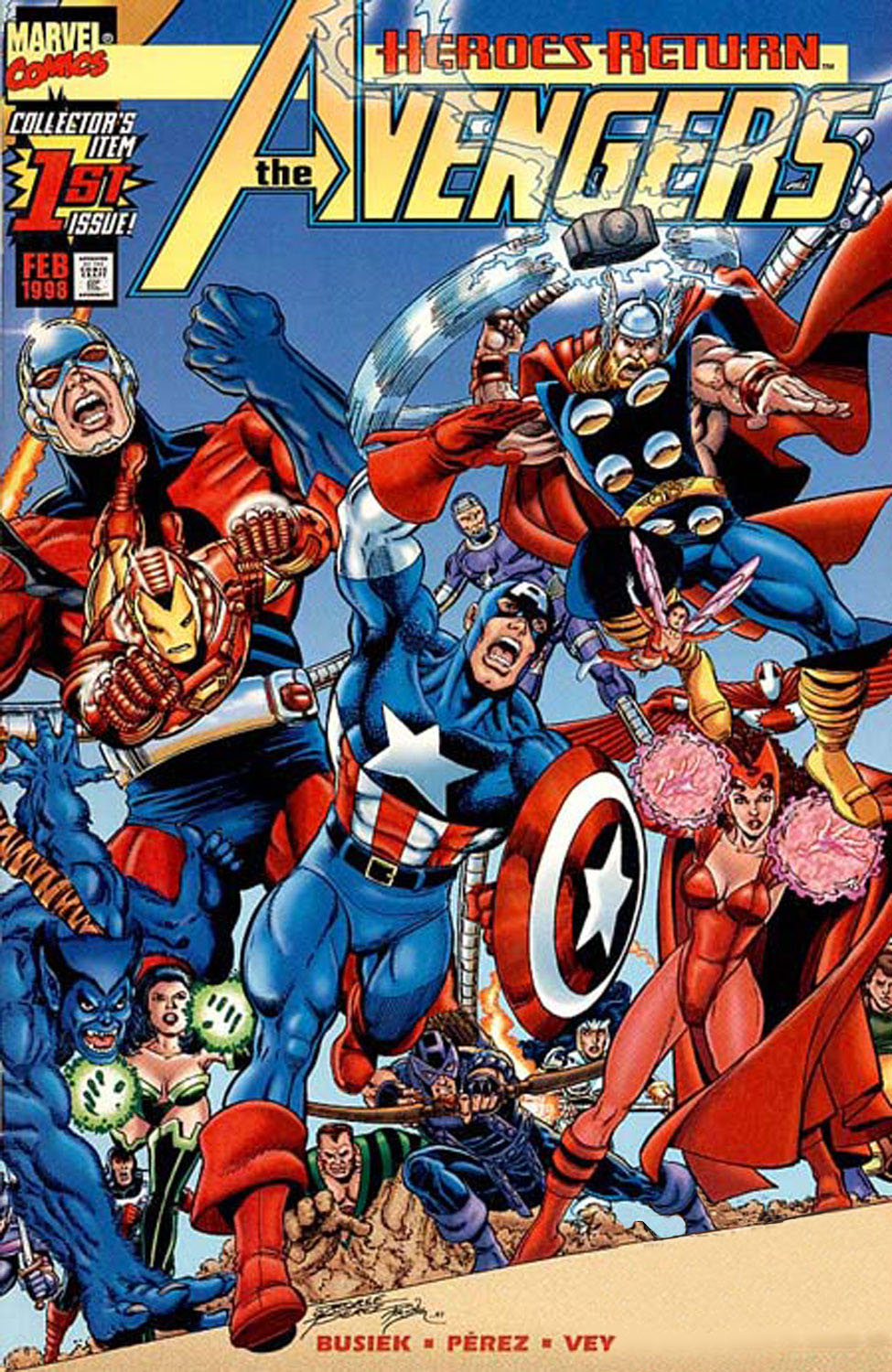 Read online Avengers (1998) comic -  Issue #1 - 1