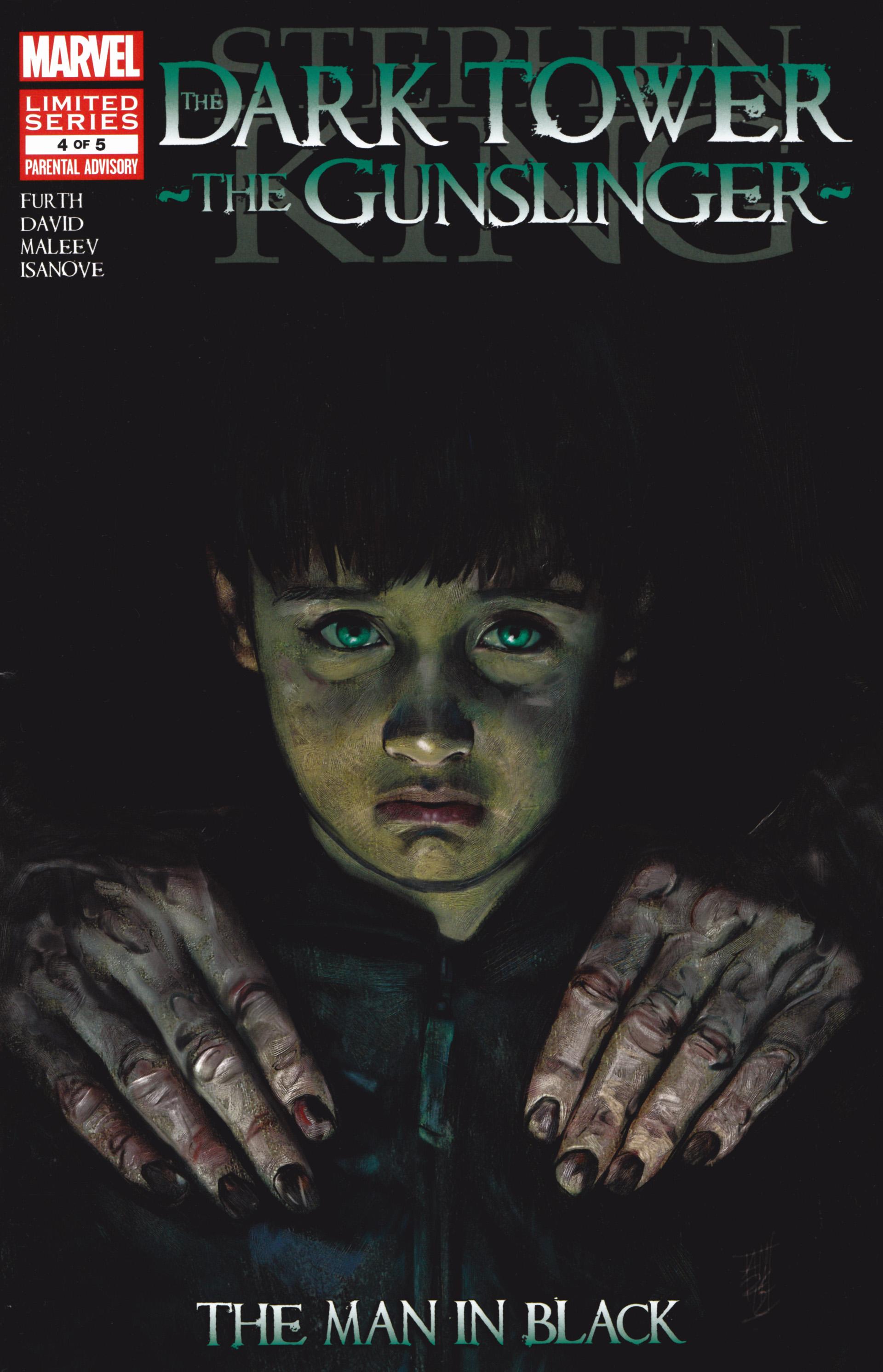 Read online Dark Tower: The Gunslinger - The Man in Black comic -  Issue #4 - 1