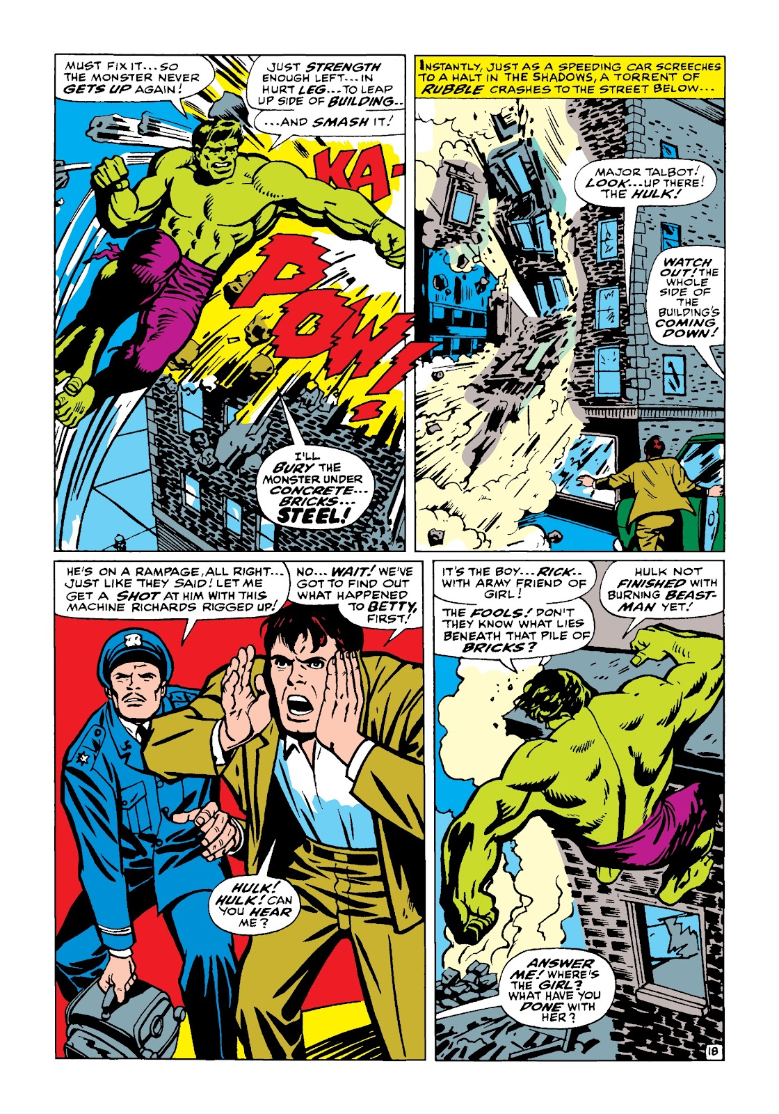 Read online Marvel Masterworks: The Incredible Hulk comic -  Issue # TPB 4 (Part 1) - 67
