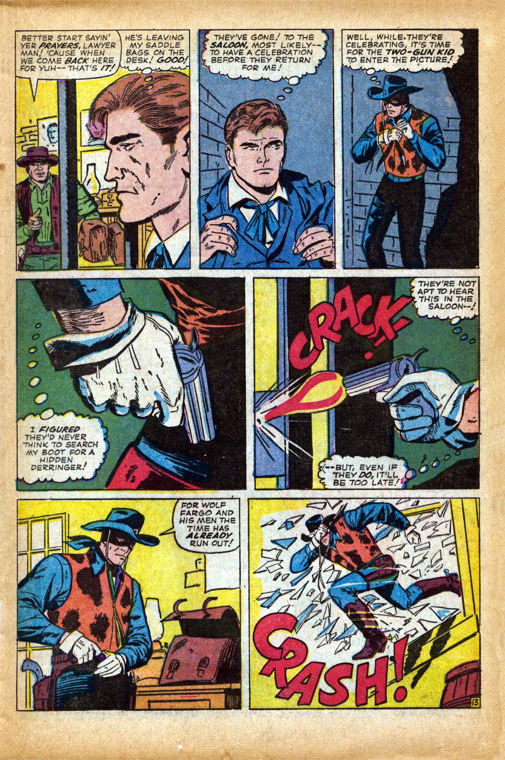 Read online Two-Gun Kid comic -  Issue #75 - 17