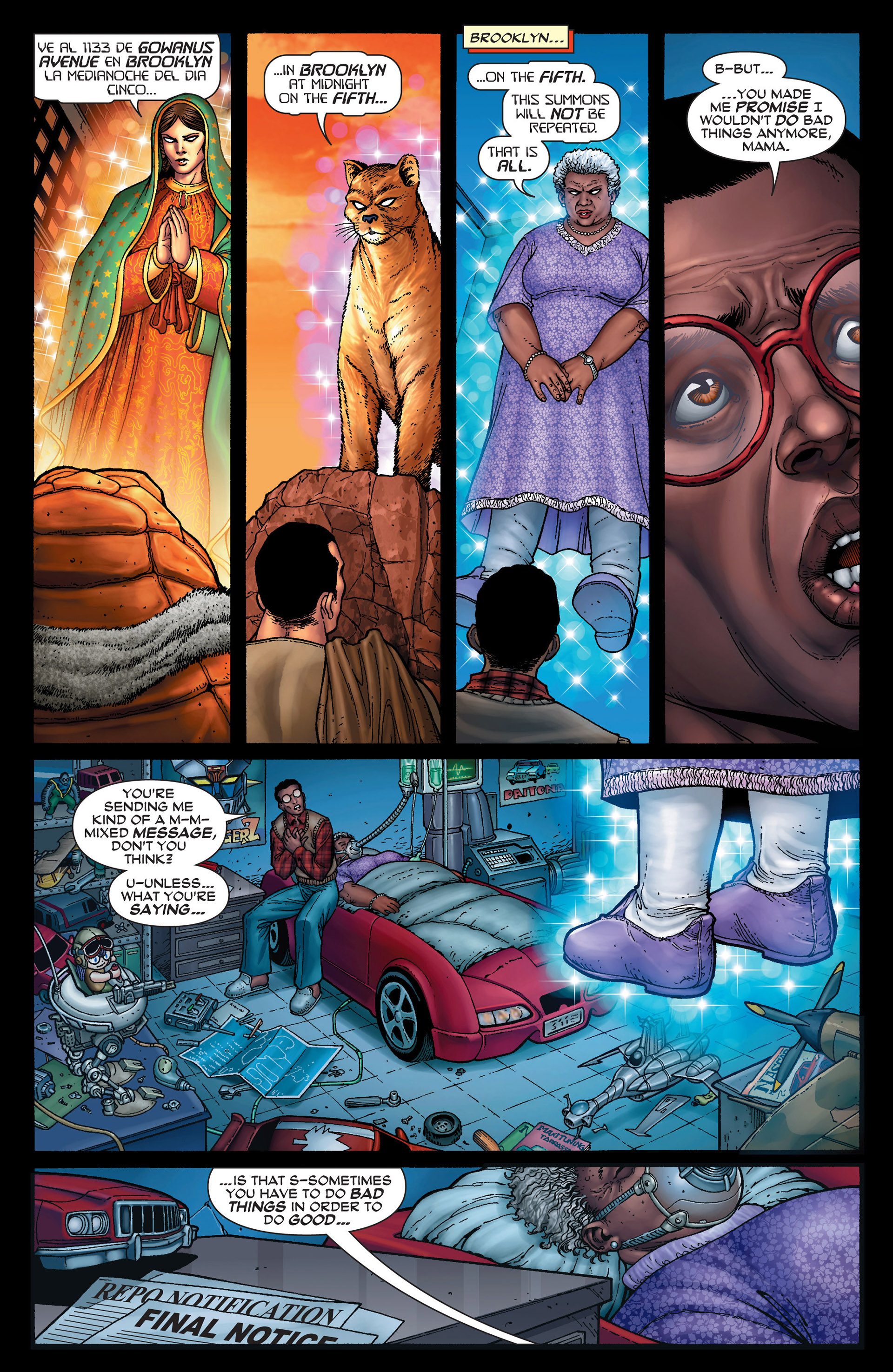 Read online Super-Villain Team-Up/MODOK's 11 comic -  Issue #1 - 14