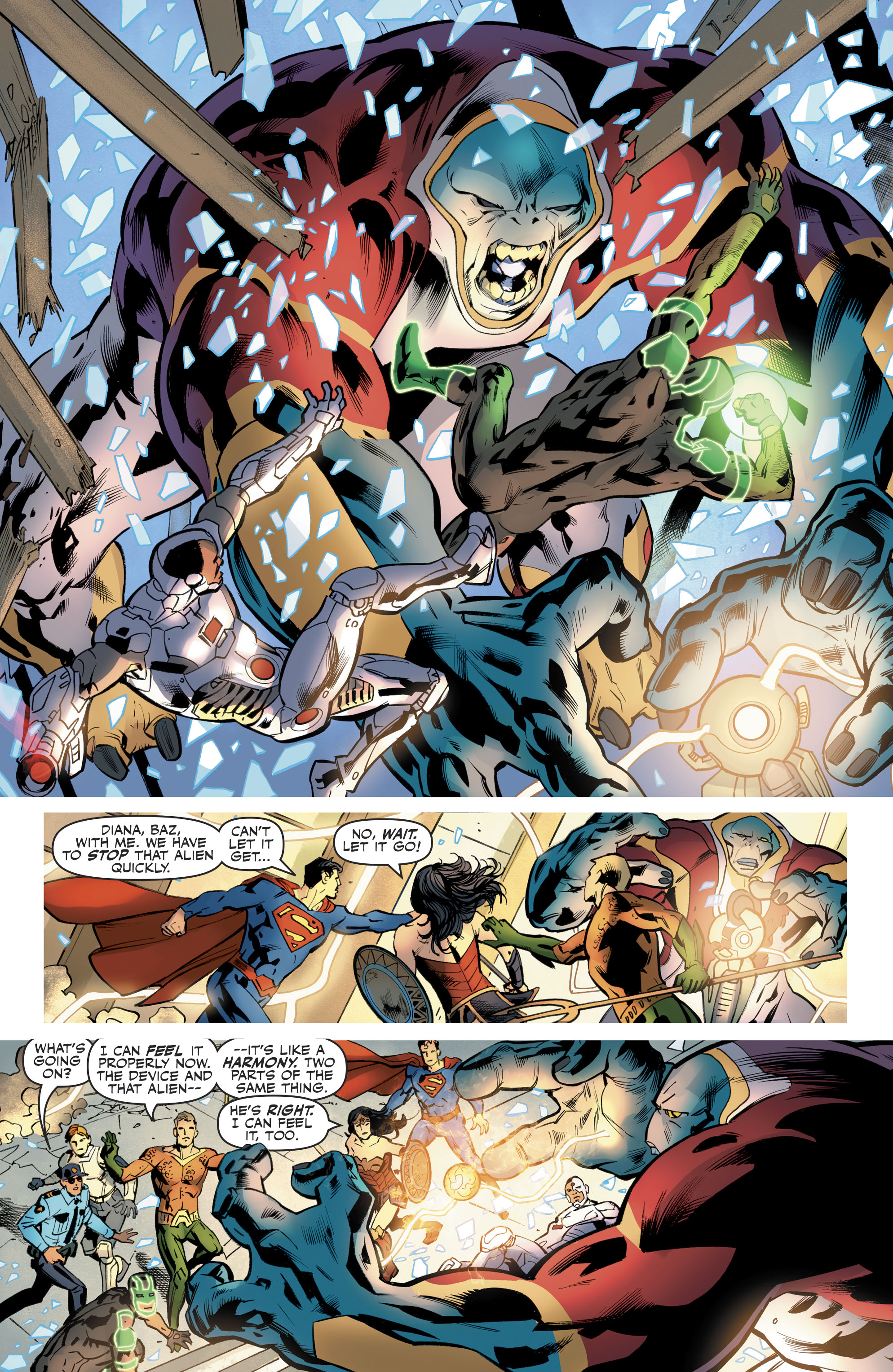 Read online Justice League (2016) comic -  Issue #21 - 20