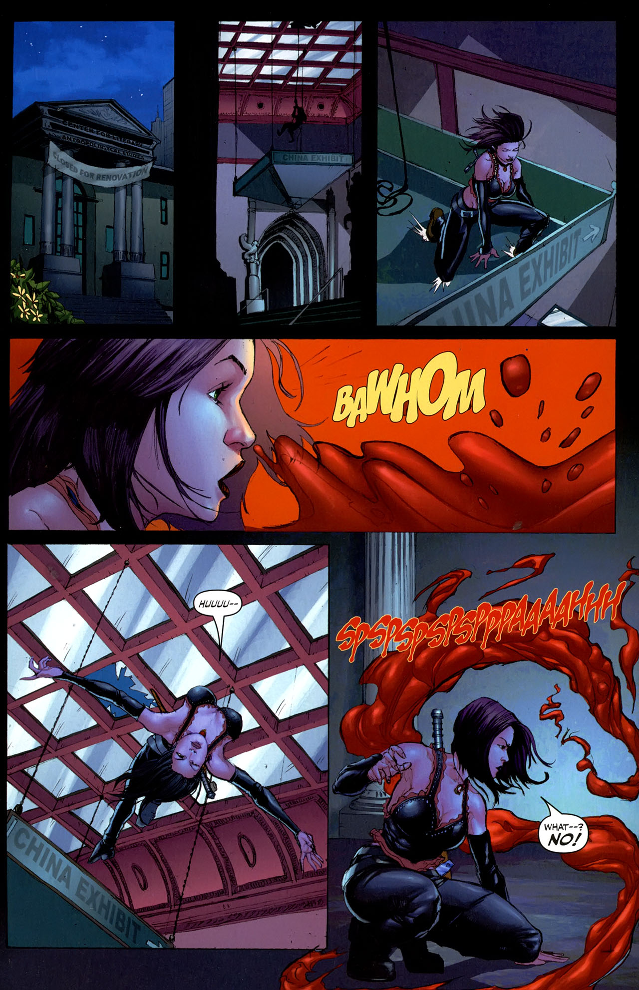 Read online Eva: Daughter of the Dragon comic -  Issue # Full - 23