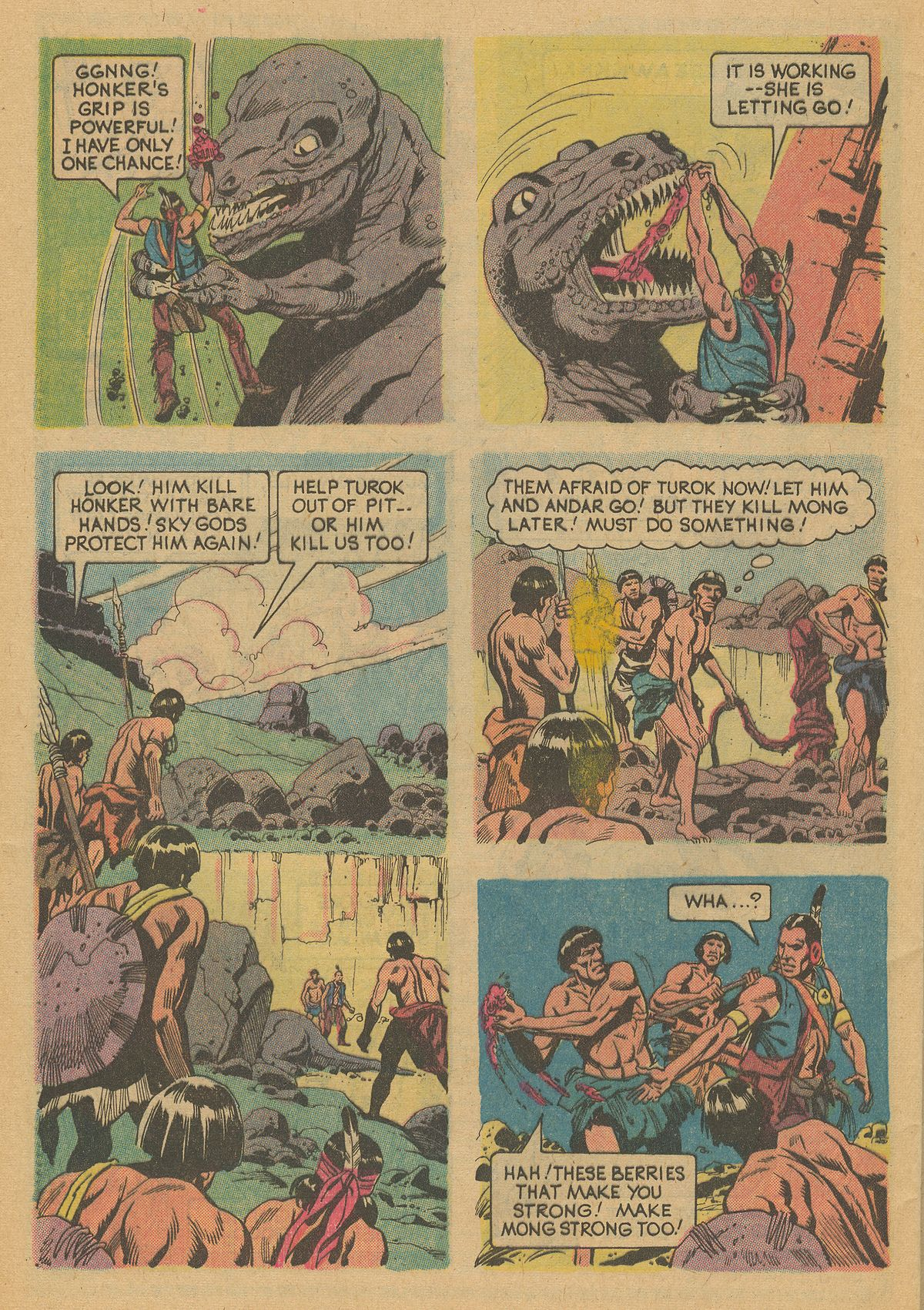 Read online Turok, Son of Stone comic -  Issue #125 - 32