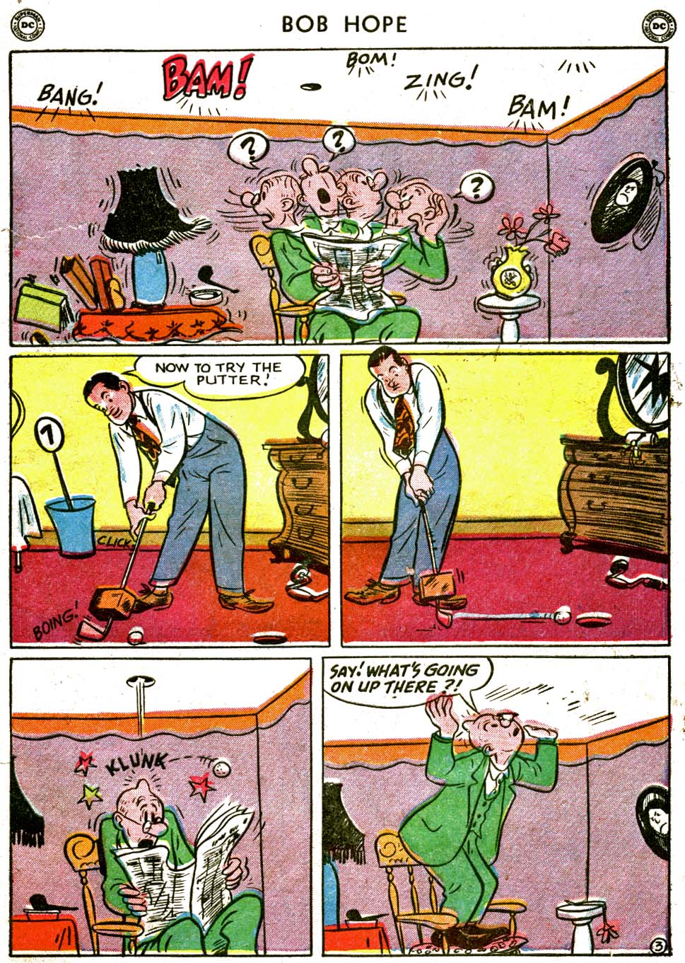 The Adventures of Bob Hope issue 1 - Page 5