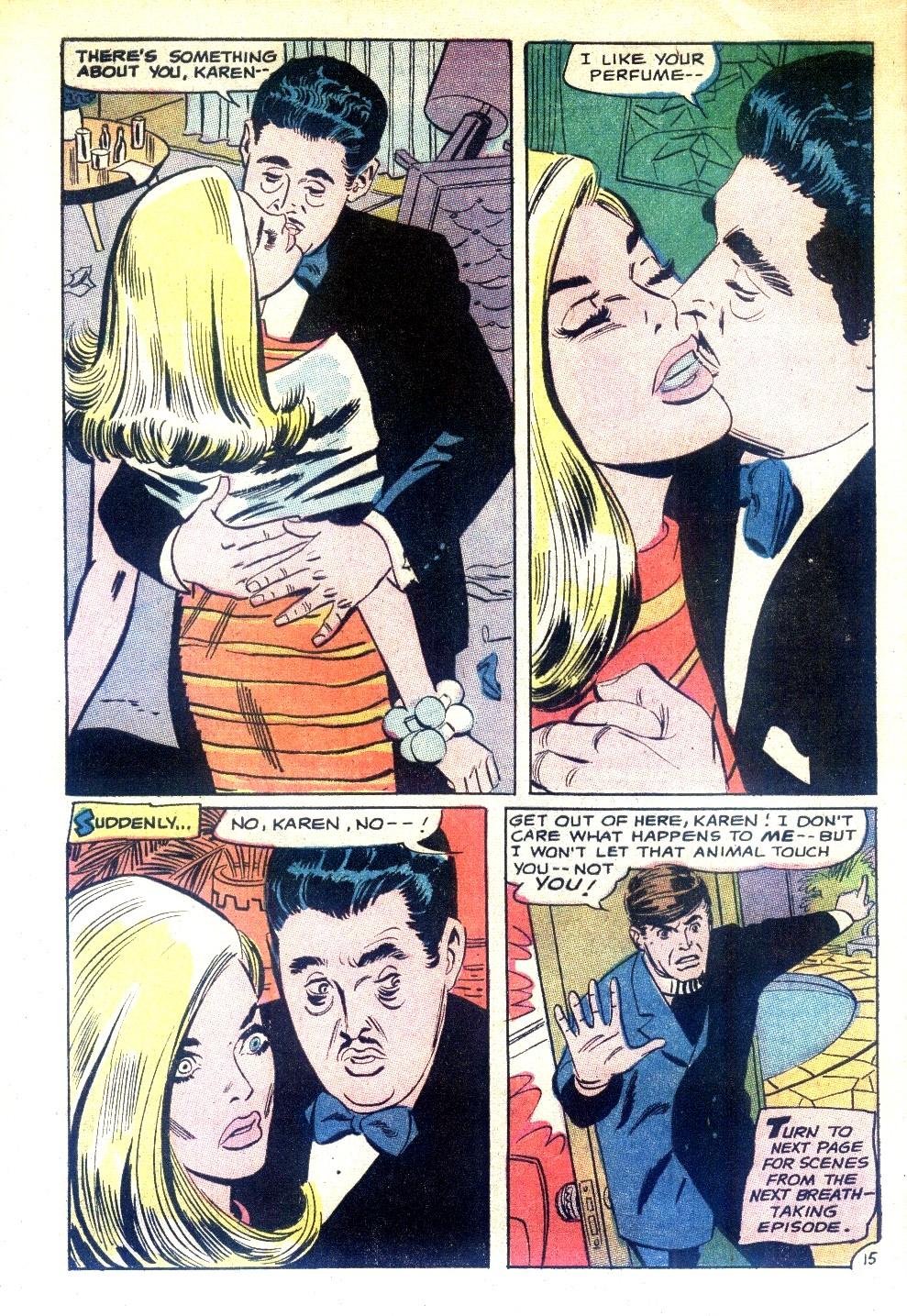 Read online Secret Hearts comic -  Issue #130 - 32