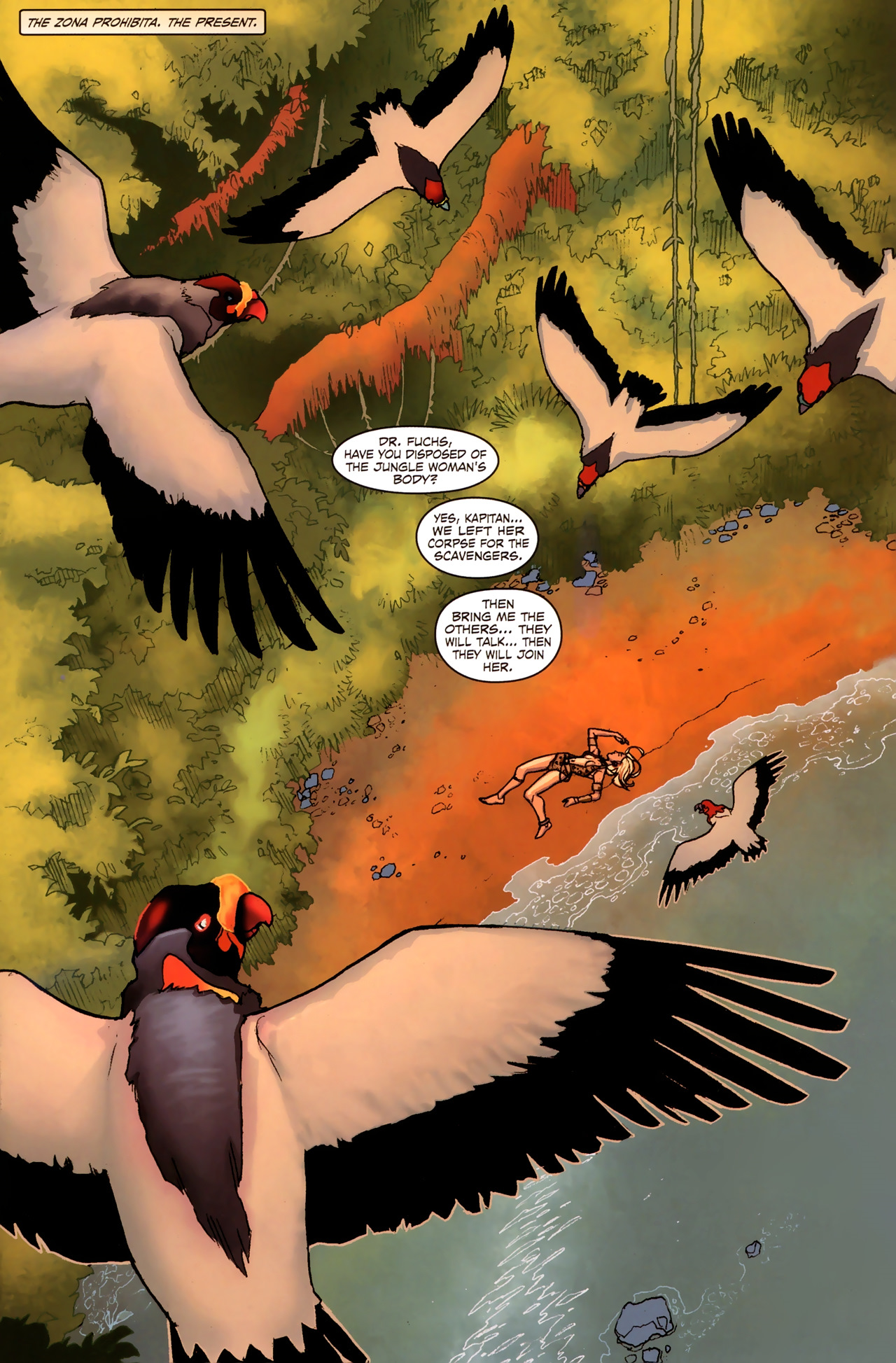 Read online Sheena Queen of the Jungle: Dark Rising comic -  Issue #2 - 3