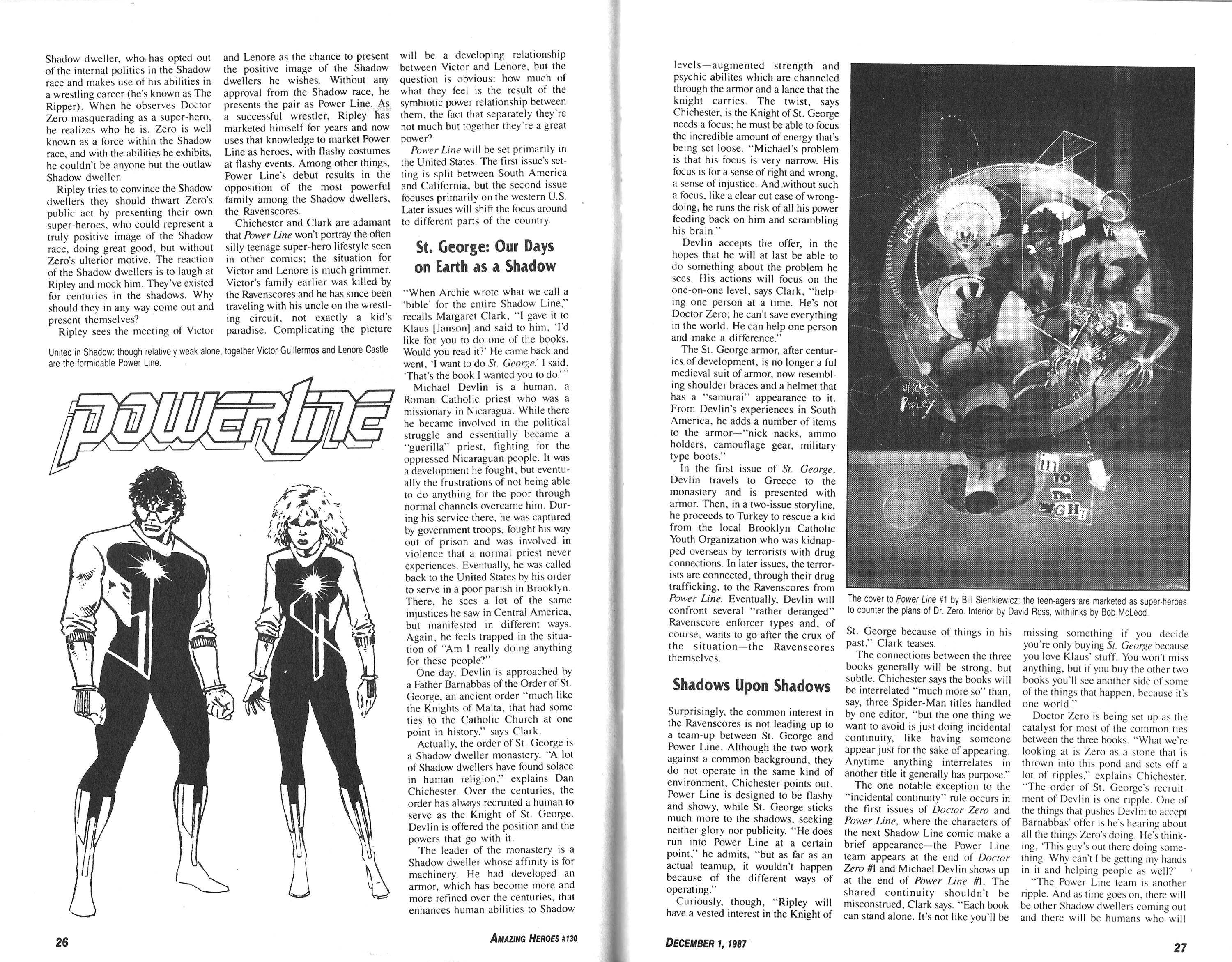 Read online Amazing Heroes comic -  Issue #130 - 14