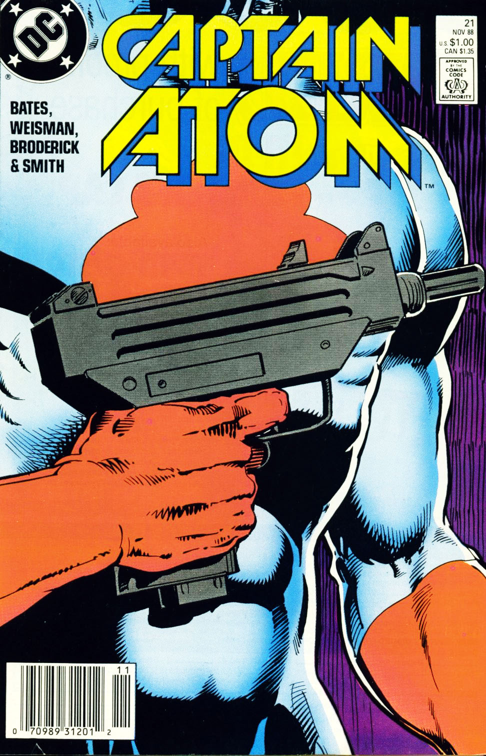 Captain Atom (1987) 21 Page 1