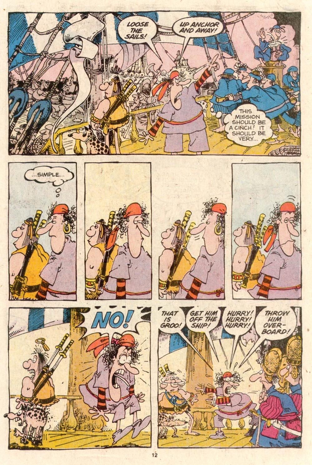 Read online Sergio Aragonés Groo the Wanderer comic -  Issue #54 - 12
