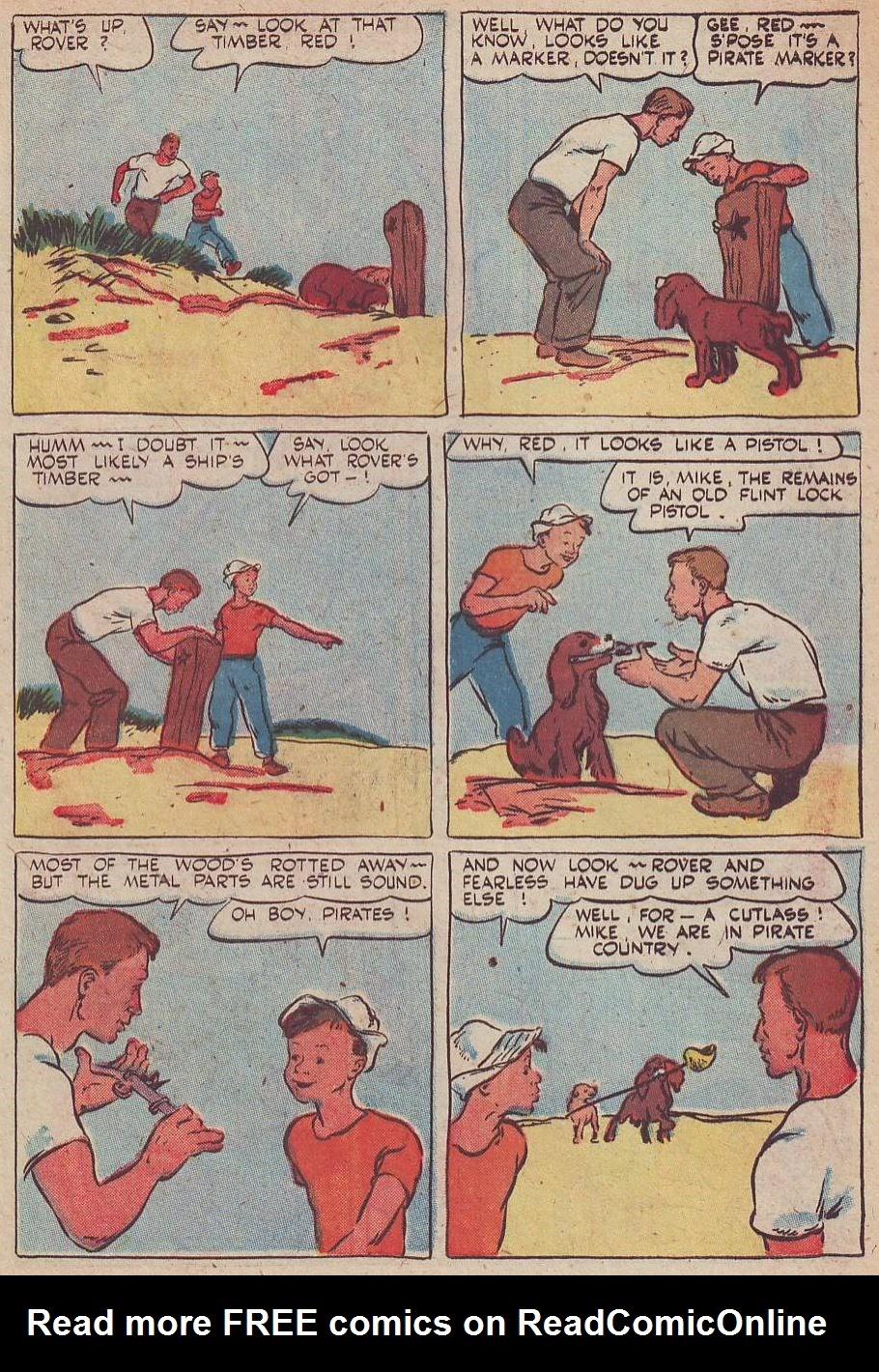 Read online Animal Comics comic -  Issue #30 - 8