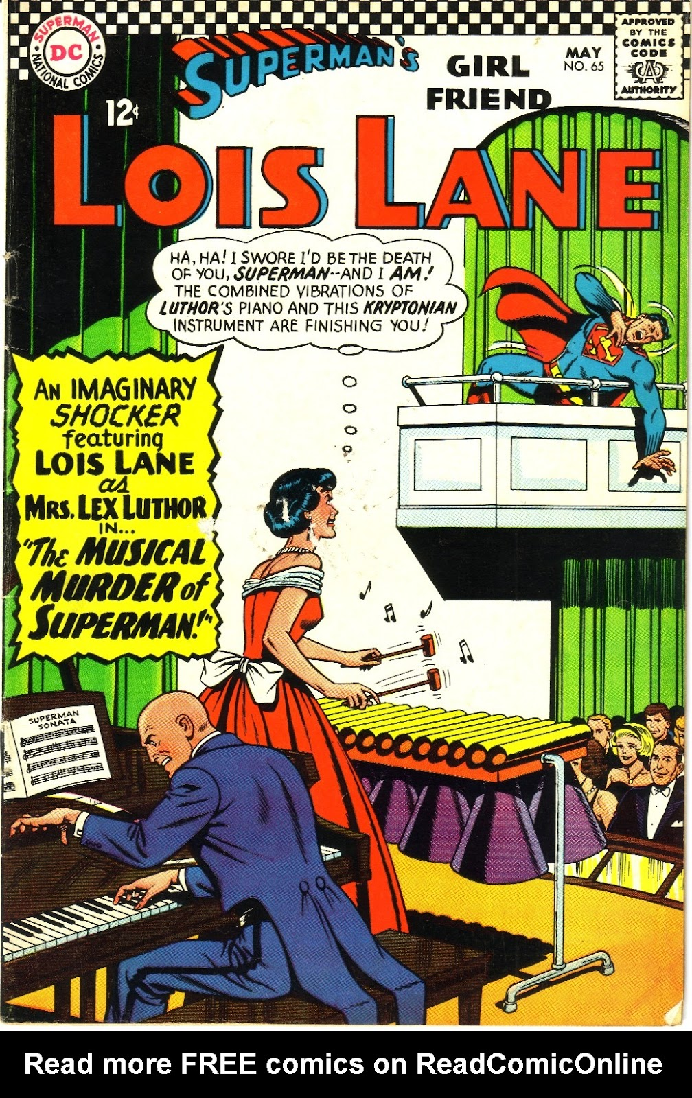 Supermans Girl Friend, Lois Lane 65 Page 1
