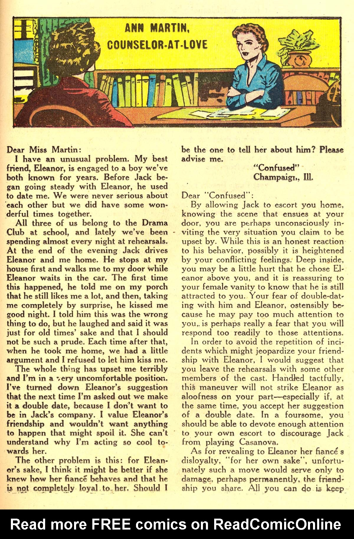 Read online Secret Hearts comic -  Issue #34 - 25