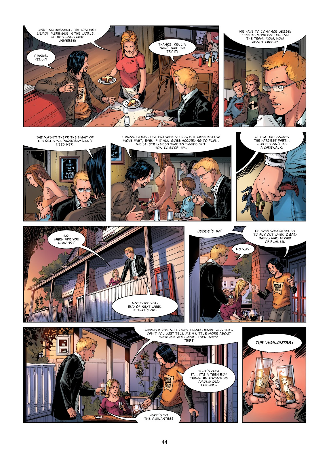 Read online Vigilantes comic -  Issue #1 - 44