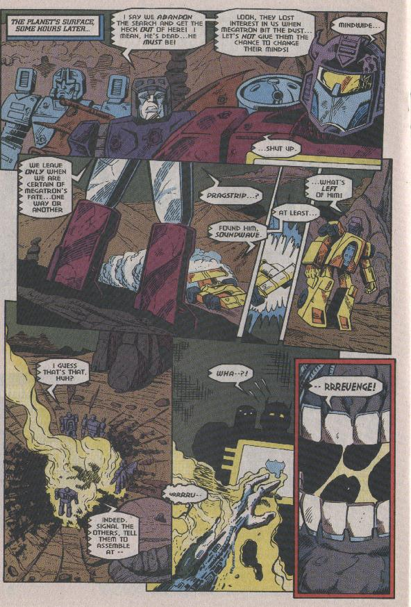 Read online Transformers: Generation 2 comic -  Issue #7 - 18
