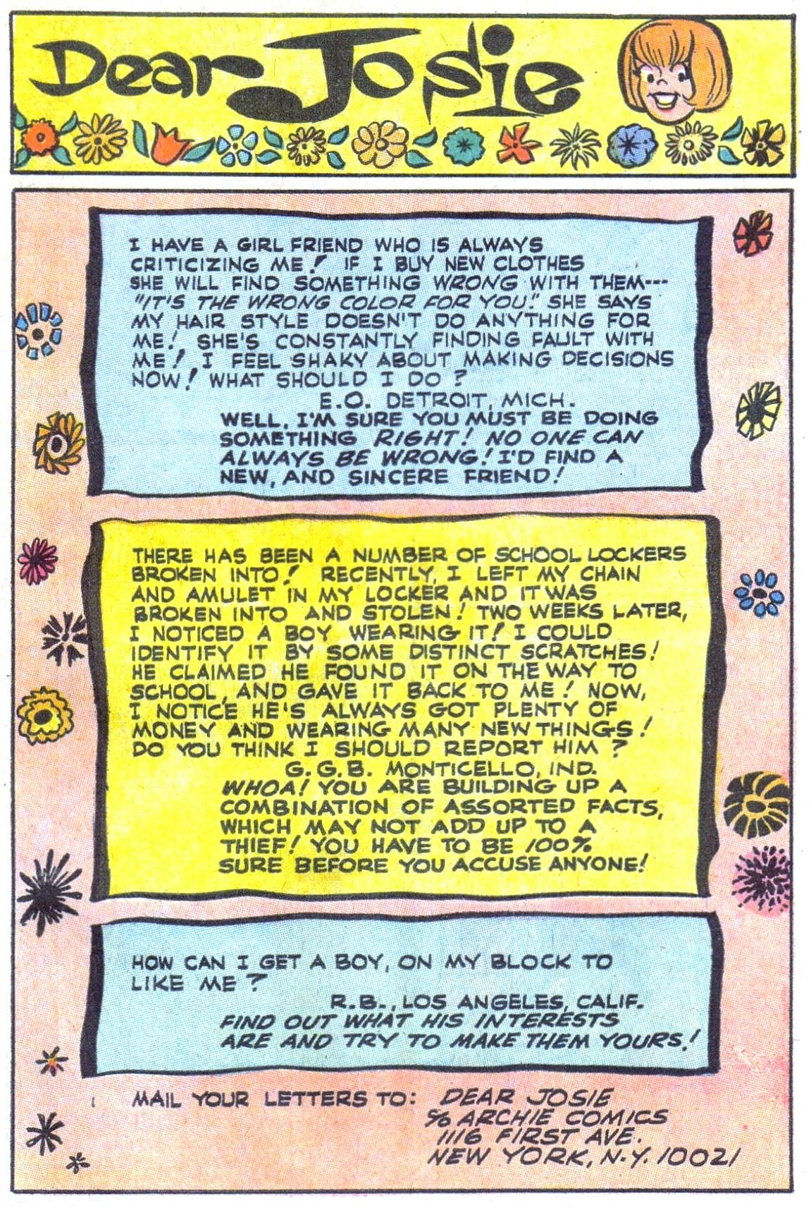 Read online She's Josie comic -  Issue #37 - 27