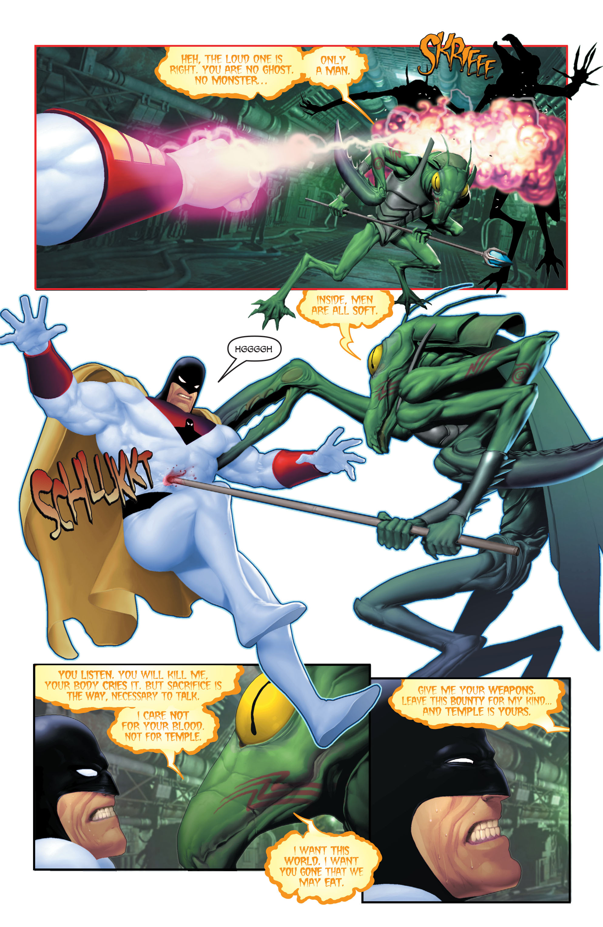 Read online Space Ghost (2016) comic -  Issue # Full - 103