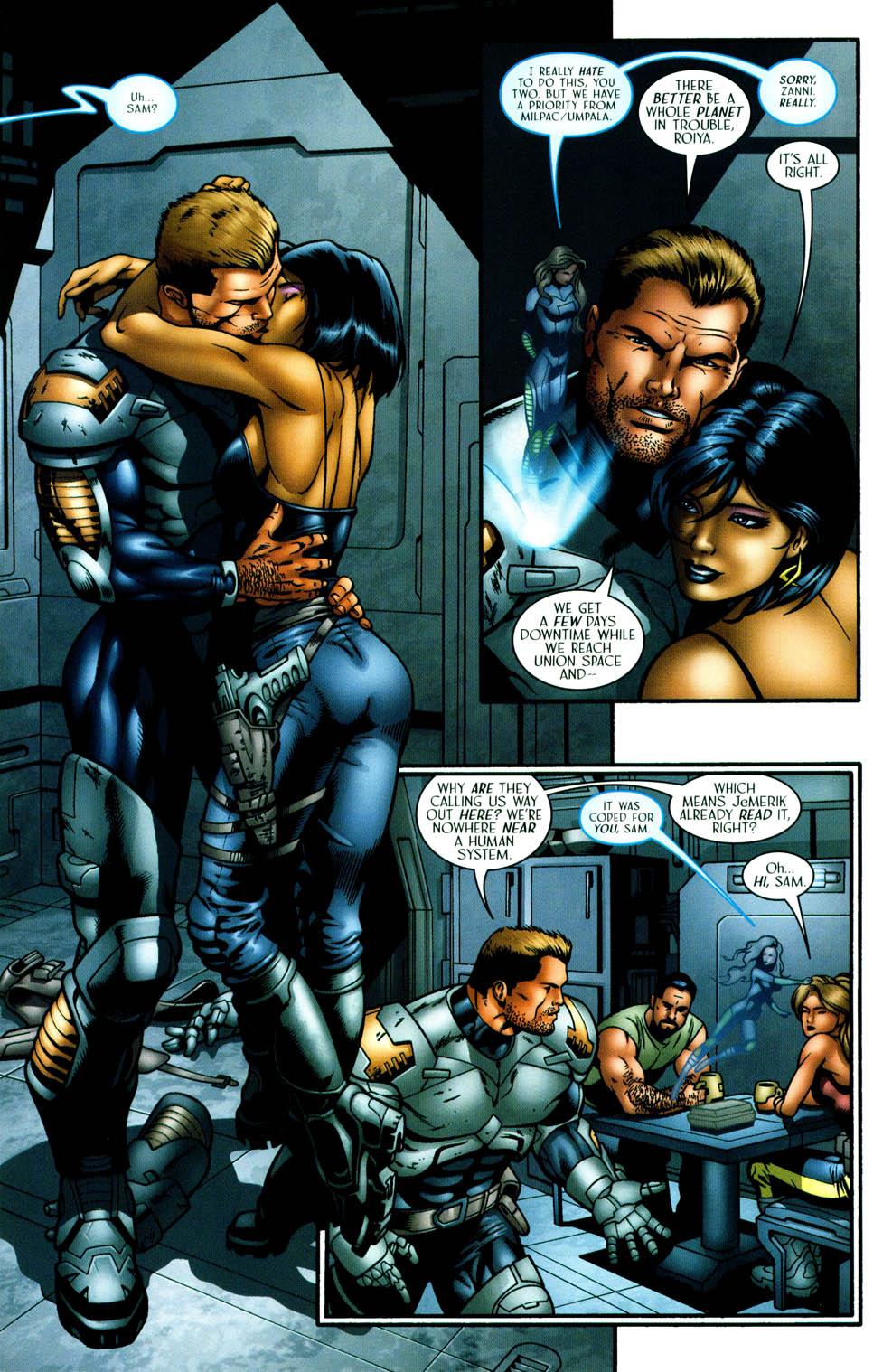 Read online Sigil (2000) comic -  Issue #36 - 11