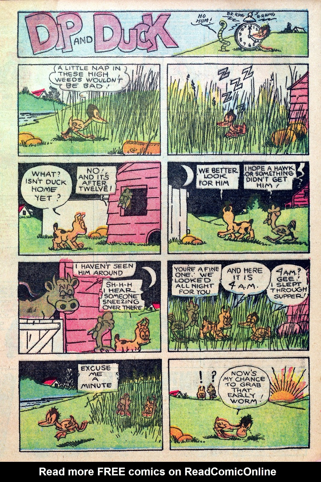 Read online Famous Funnies comic -  Issue #8 - 65