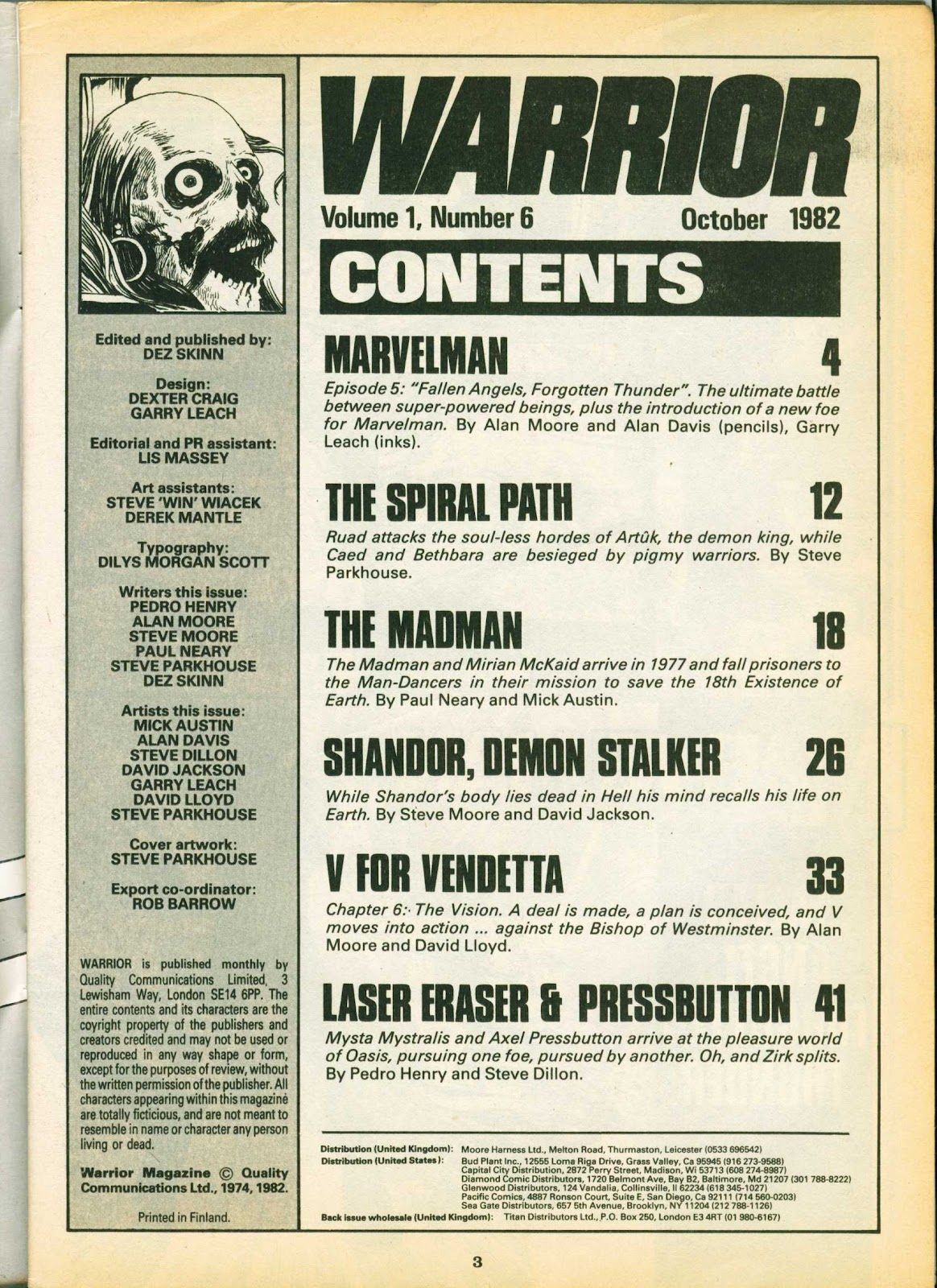 Warrior Issue #6 #7 - English 3