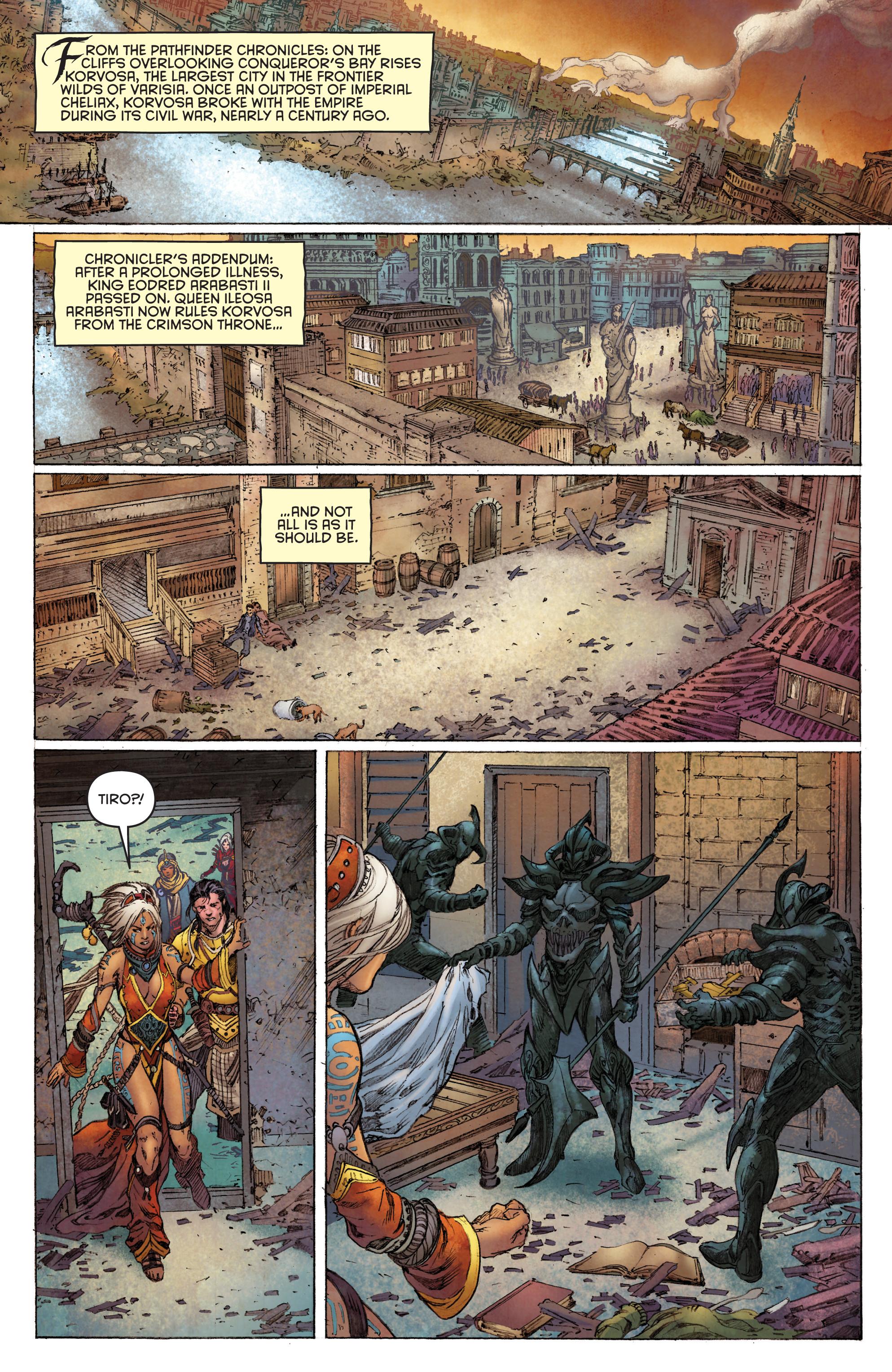 Read online Pathfinder: Runescars comic -  Issue #1 - 5