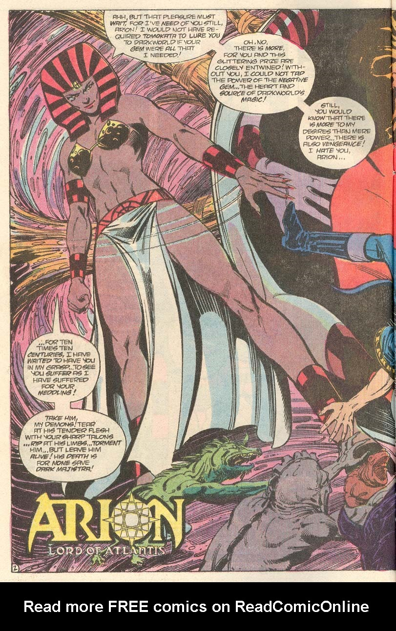 Read online Arion, Lord of Atlantis comic -  Issue #33 - 3