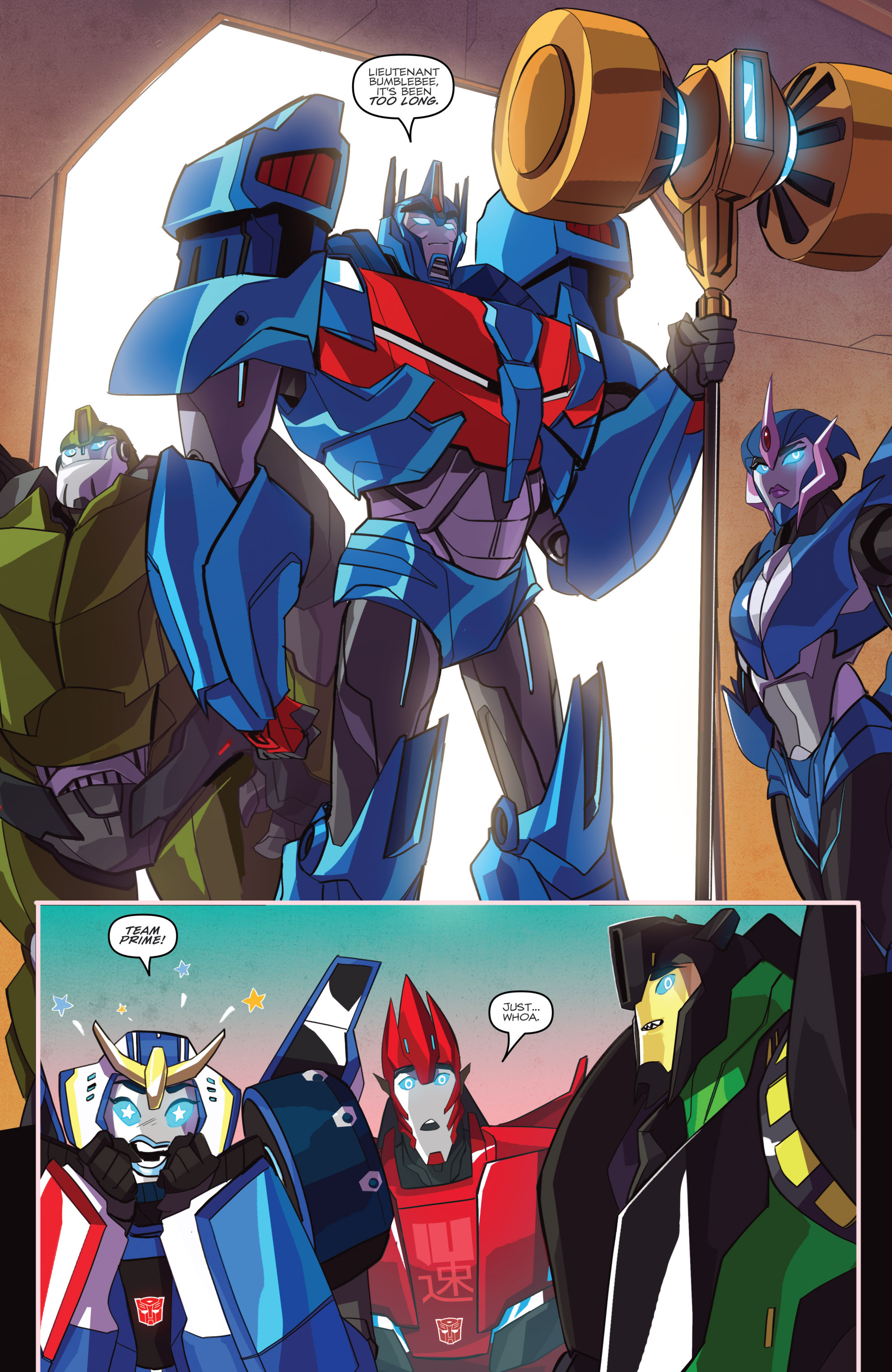 Read online Transformers: Robots In Disguise (2015) comic -  Issue #2 - 12