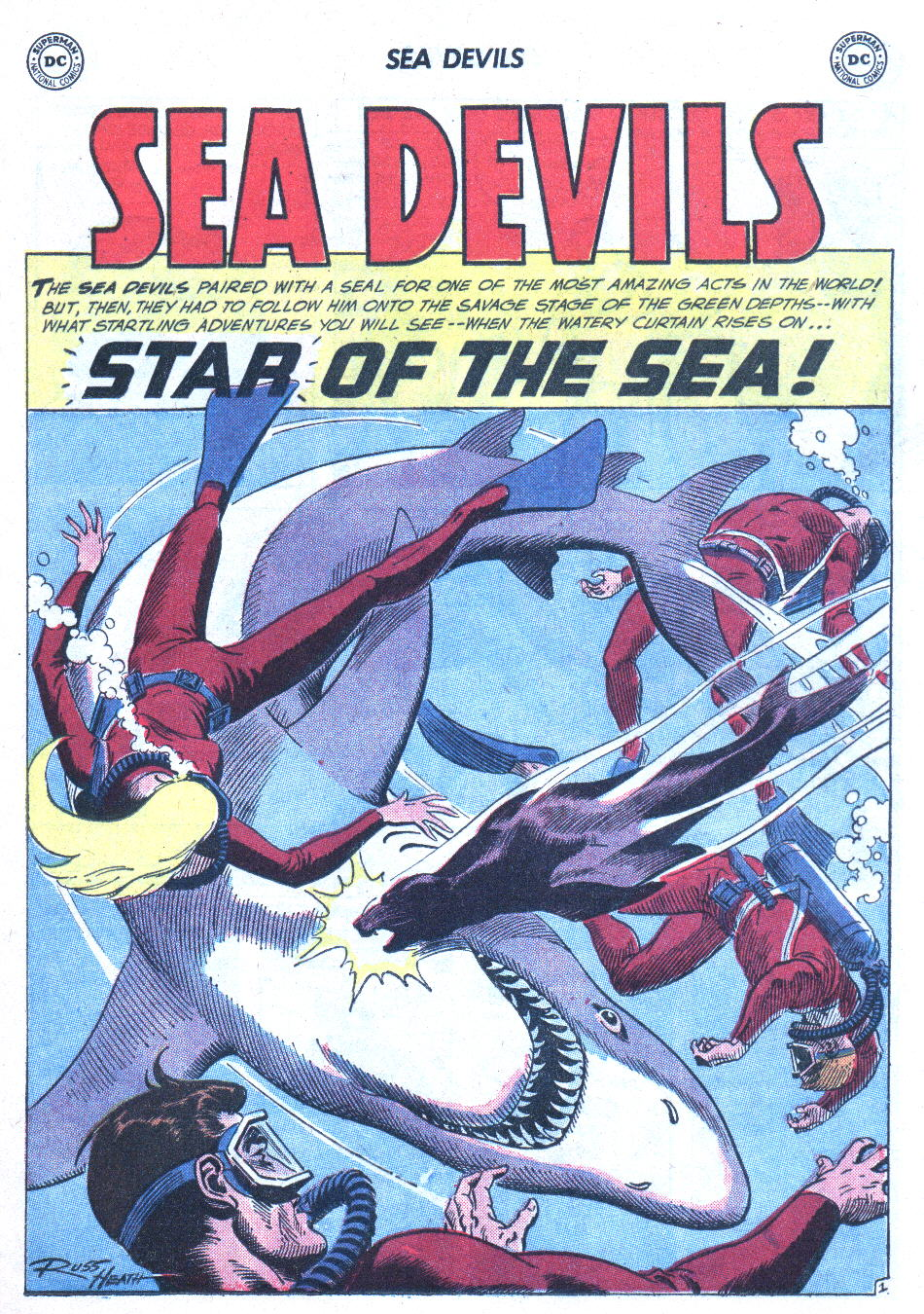 Read online Sea Devils comic -  Issue #2 - 22