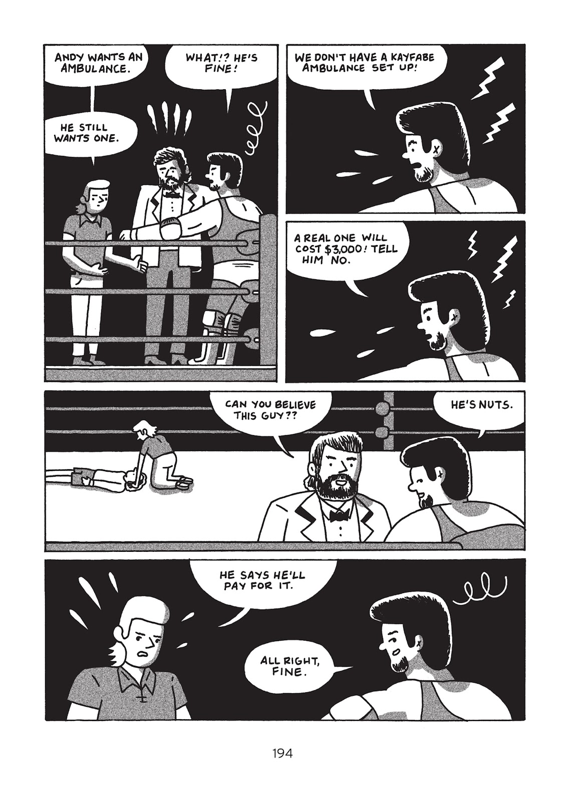 Read online Is This Guy For Real?: The Unbelievable Andy Kaufman comic -  Issue # TPB (Part 2) - 99