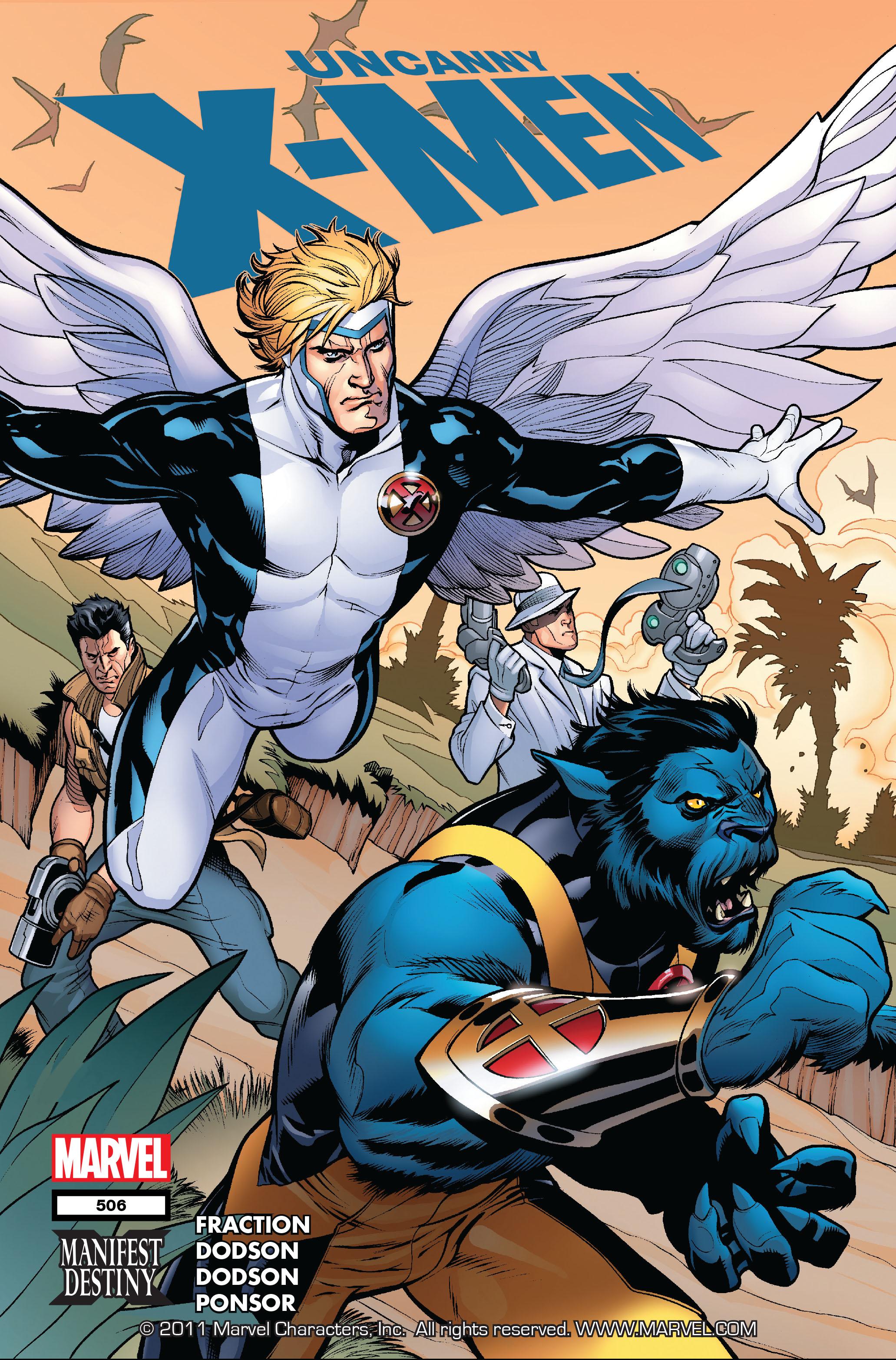 Uncanny X-Men (1963) 506 Page 1