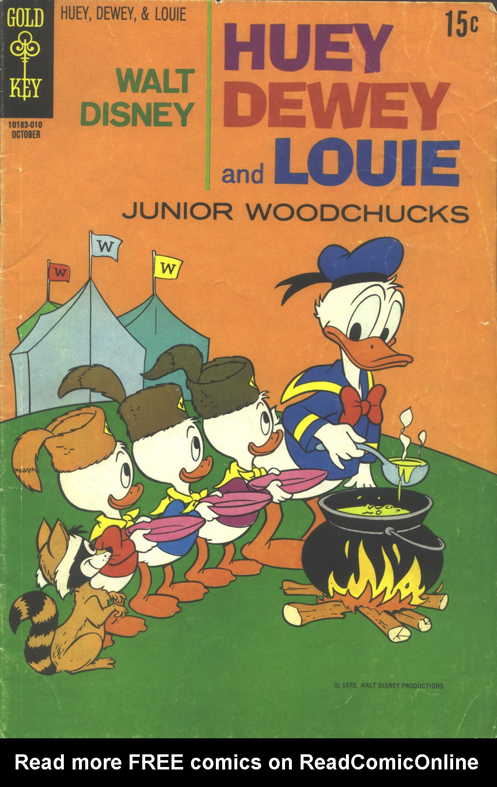 Huey, Dewey, and Louie Junior Woodchucks 7 Page 1