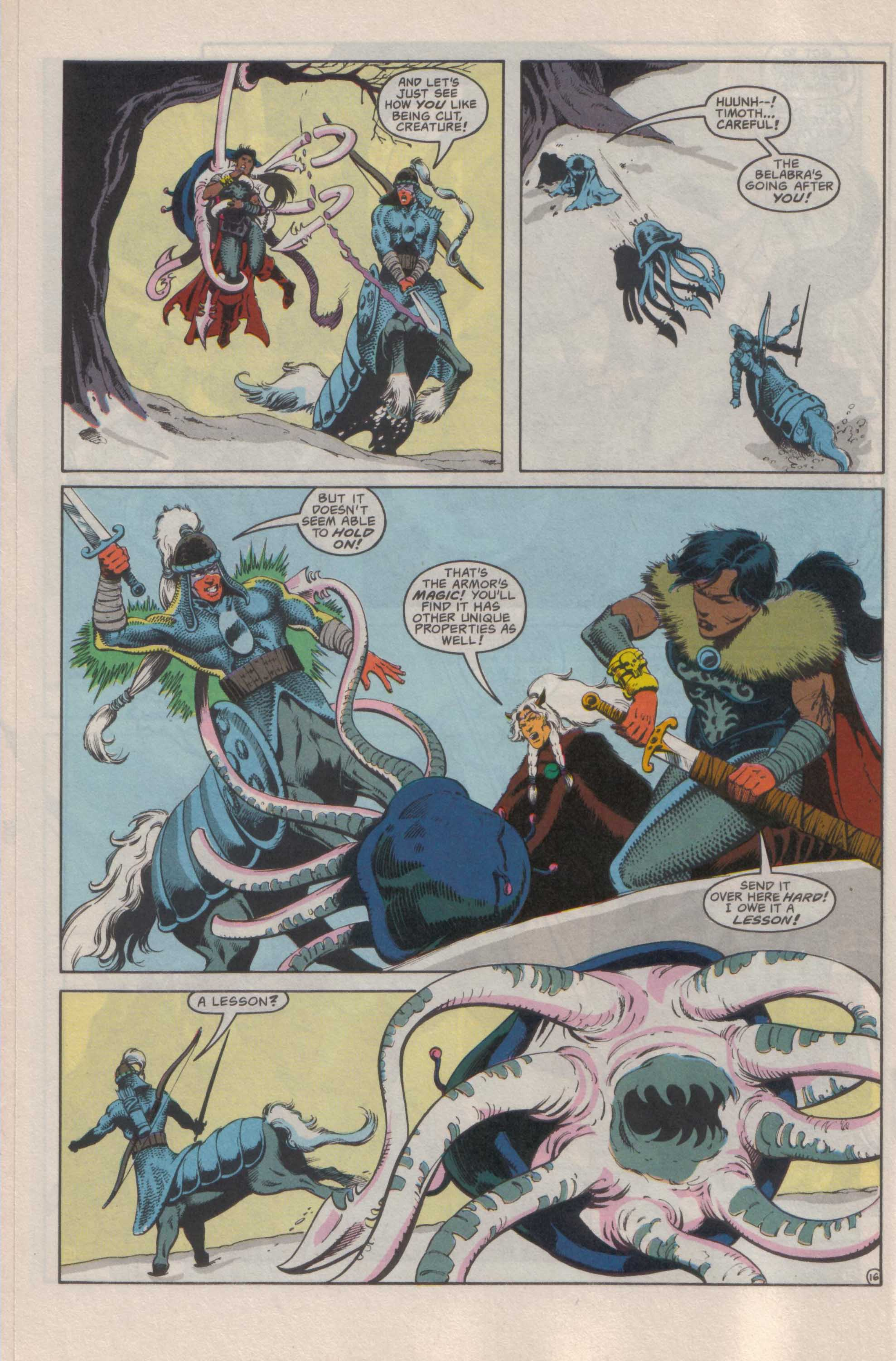 Read online Advanced Dungeons & Dragons comic -  Issue #25 - 17