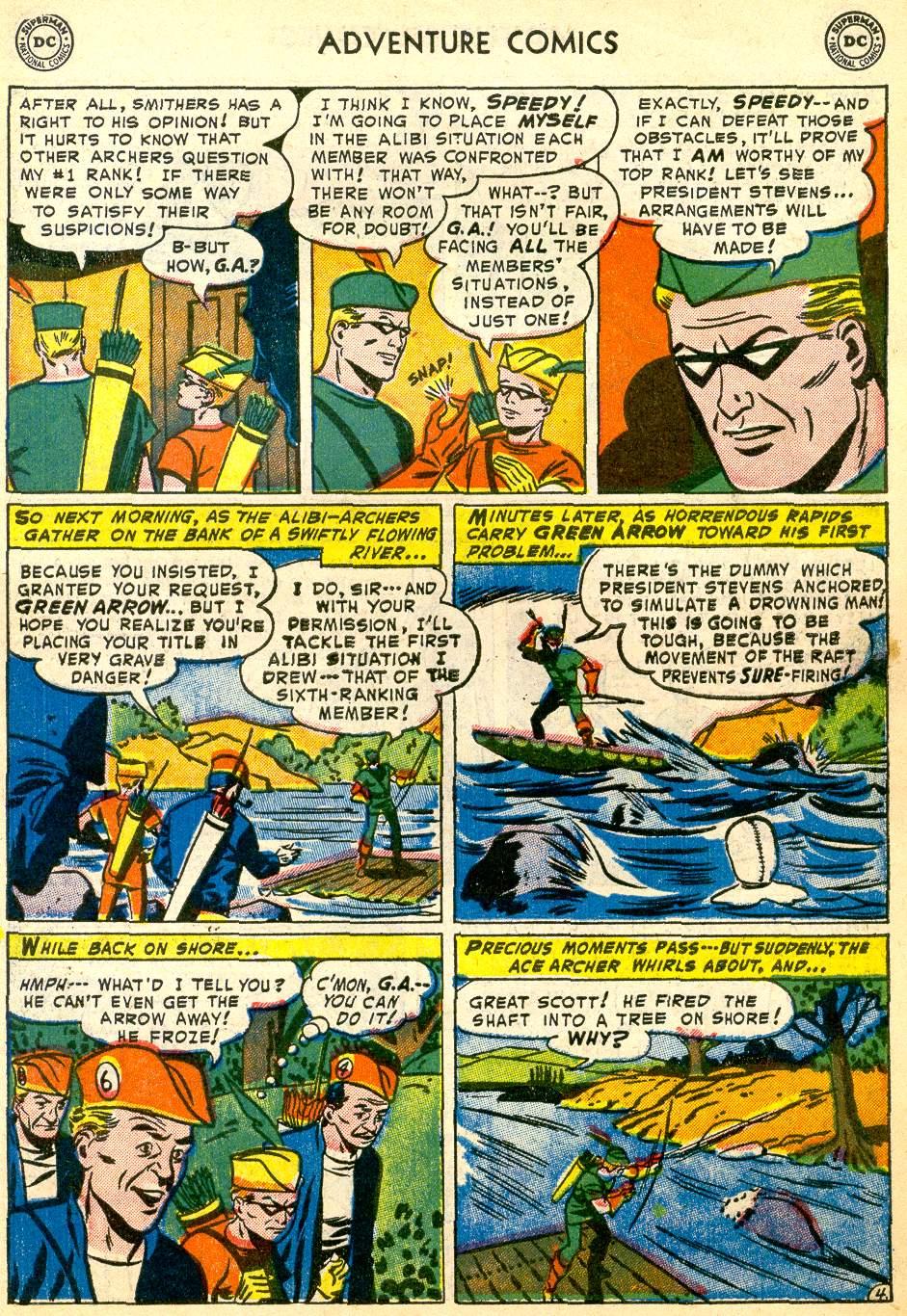 Read online Adventure Comics (1938) comic -  Issue #192 - 37