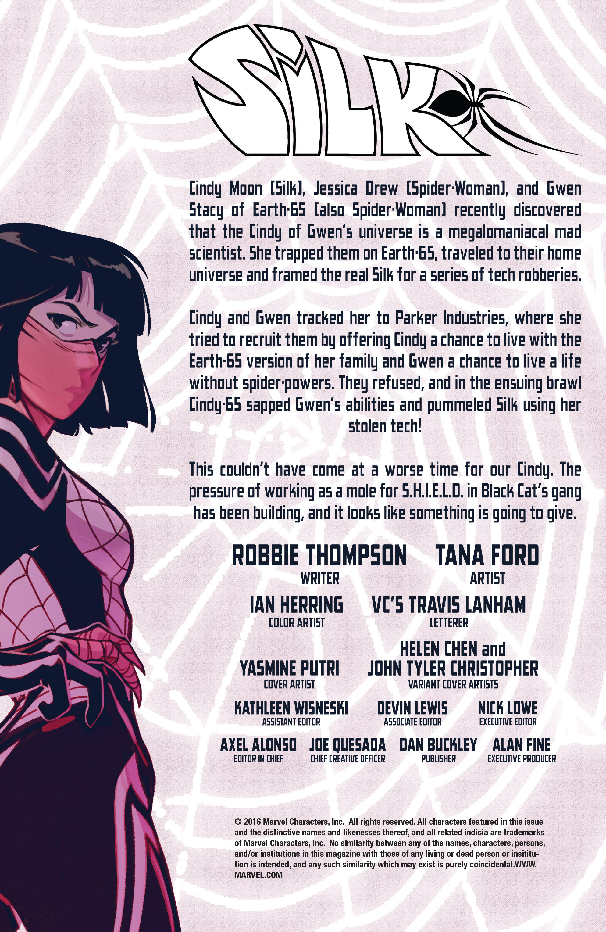 Read online Silk (2016) comic -  Issue #8 - 4