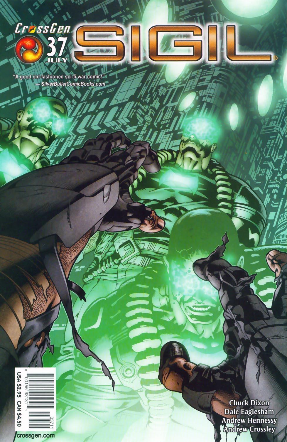 Read online Sigil (2000) comic -  Issue #37 - 3
