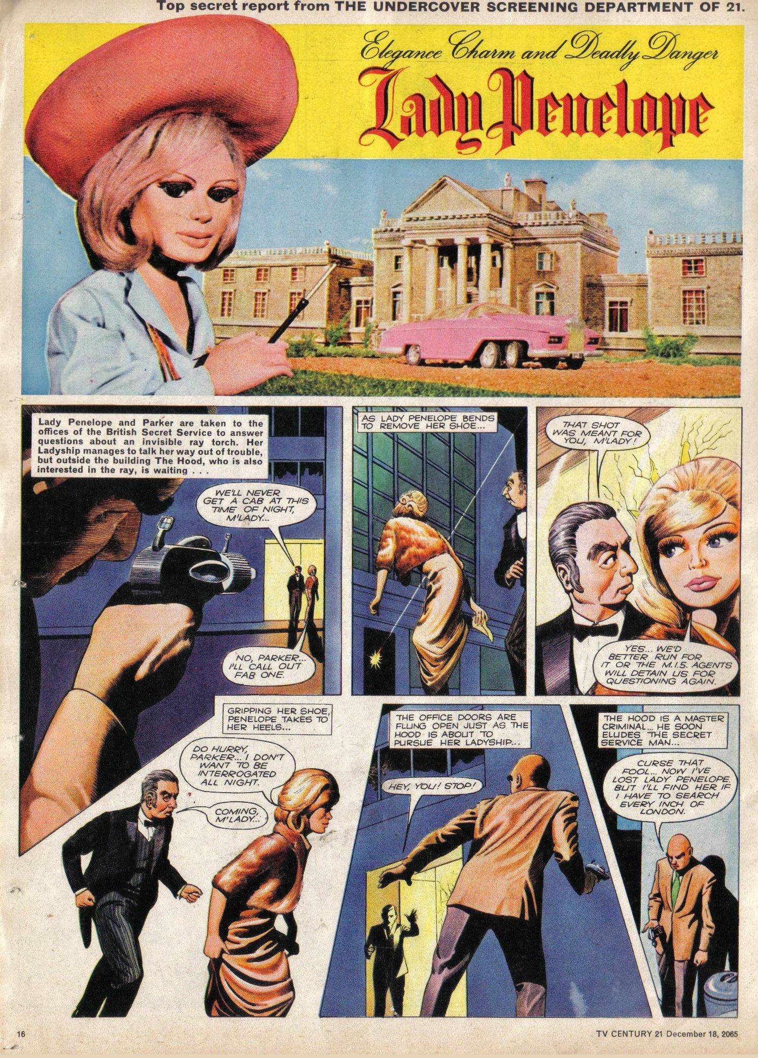 Read online TV Century 21 (TV 21) comic -  Issue #48 - 15