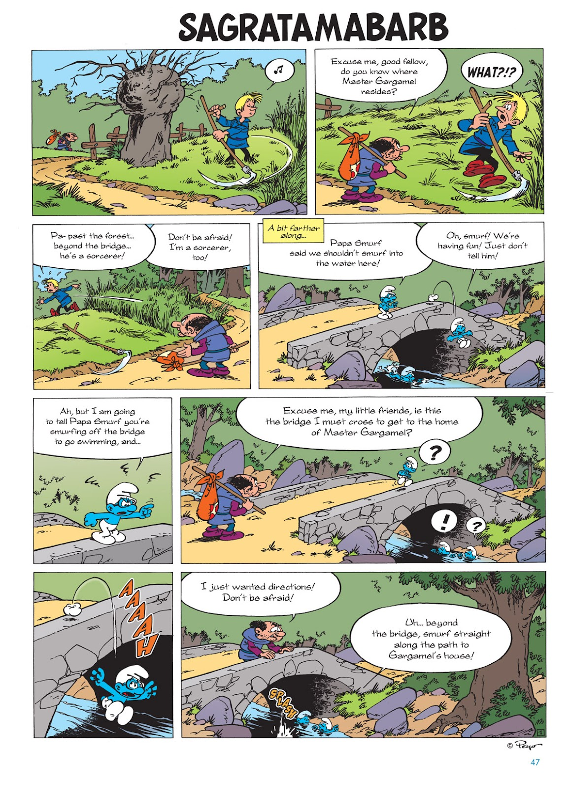 Read online The Smurfs comic -  Issue #9 - 47