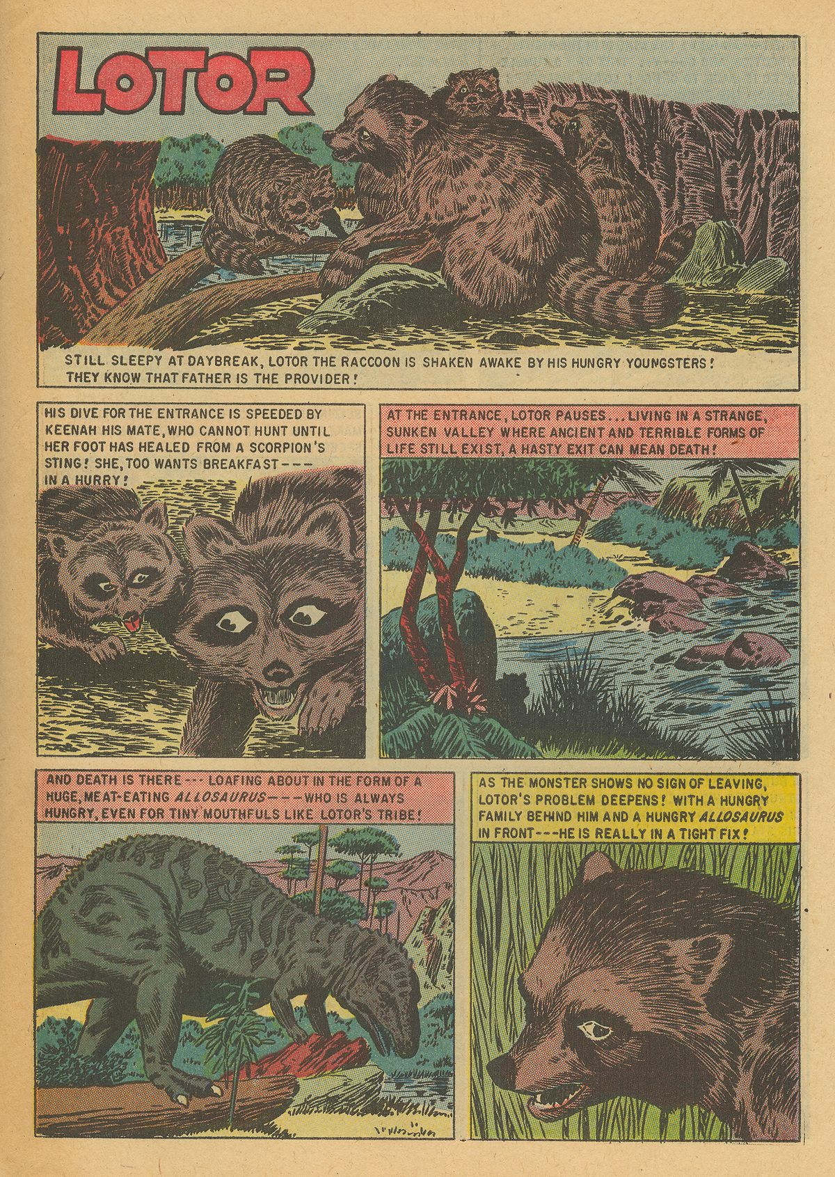 Read online Turok, Son of Stone comic -  Issue #6 - 31