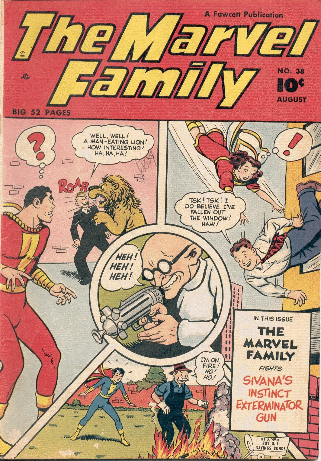 The Marvel Family 38 Page 1