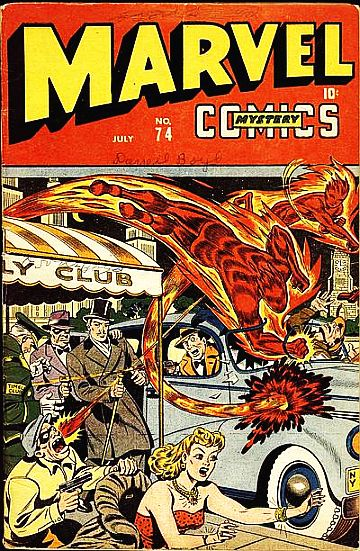 Marvel Mystery Comics (1939) issue 74 - Page 1