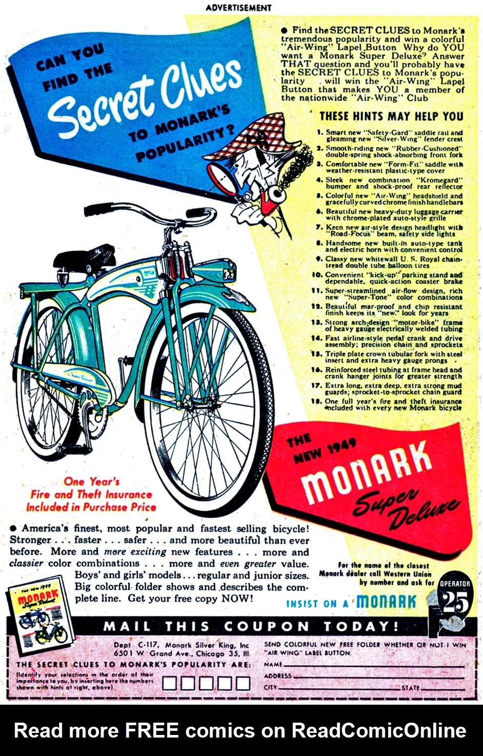 Read online Sensation (Mystery) Comics comic -  Issue #91 - 33