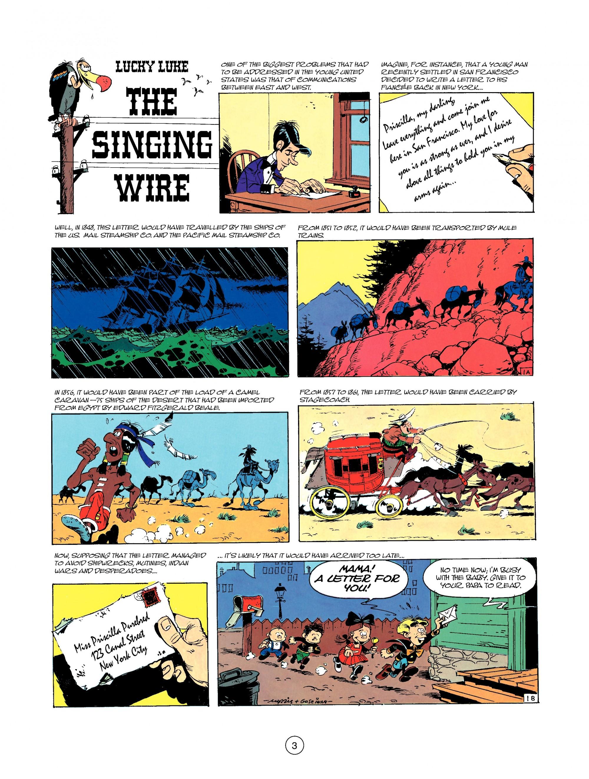 Read online A Lucky Luke Adventure comic -  Issue #35 - 3
