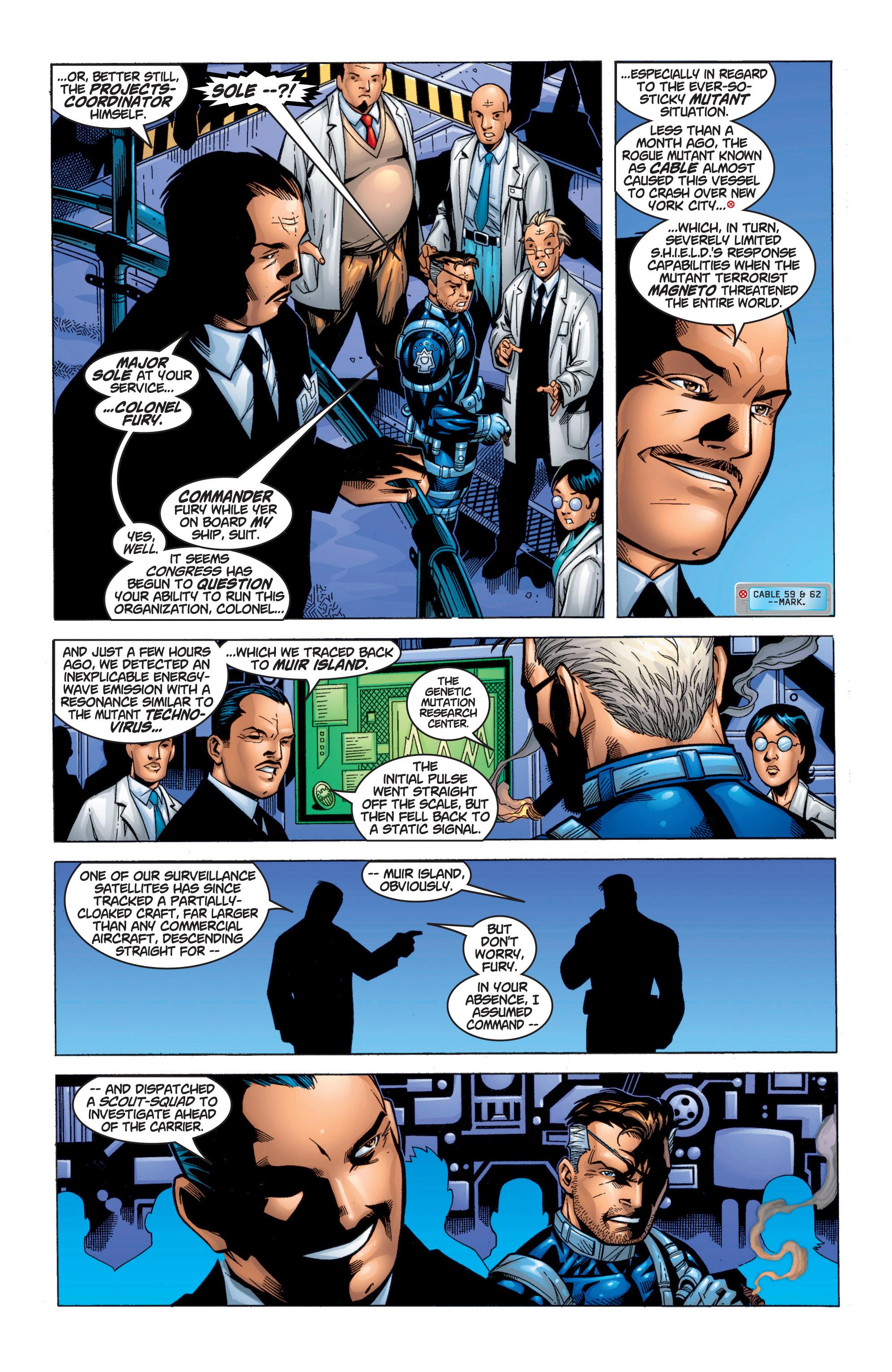 Read online Uncanny X-Men (1963) comic -  Issue #371 - 17