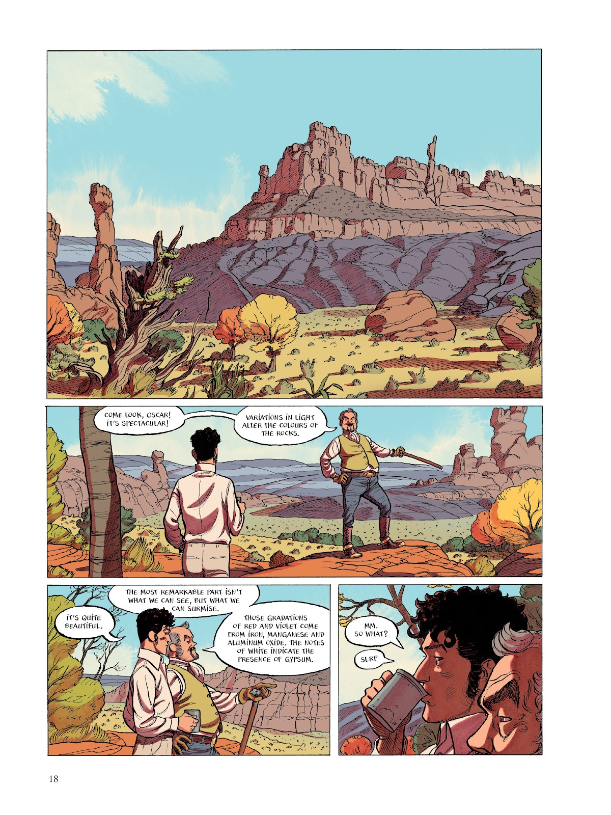 Read online The Smell of Starving Boys comic -  Issue # TPB - 19