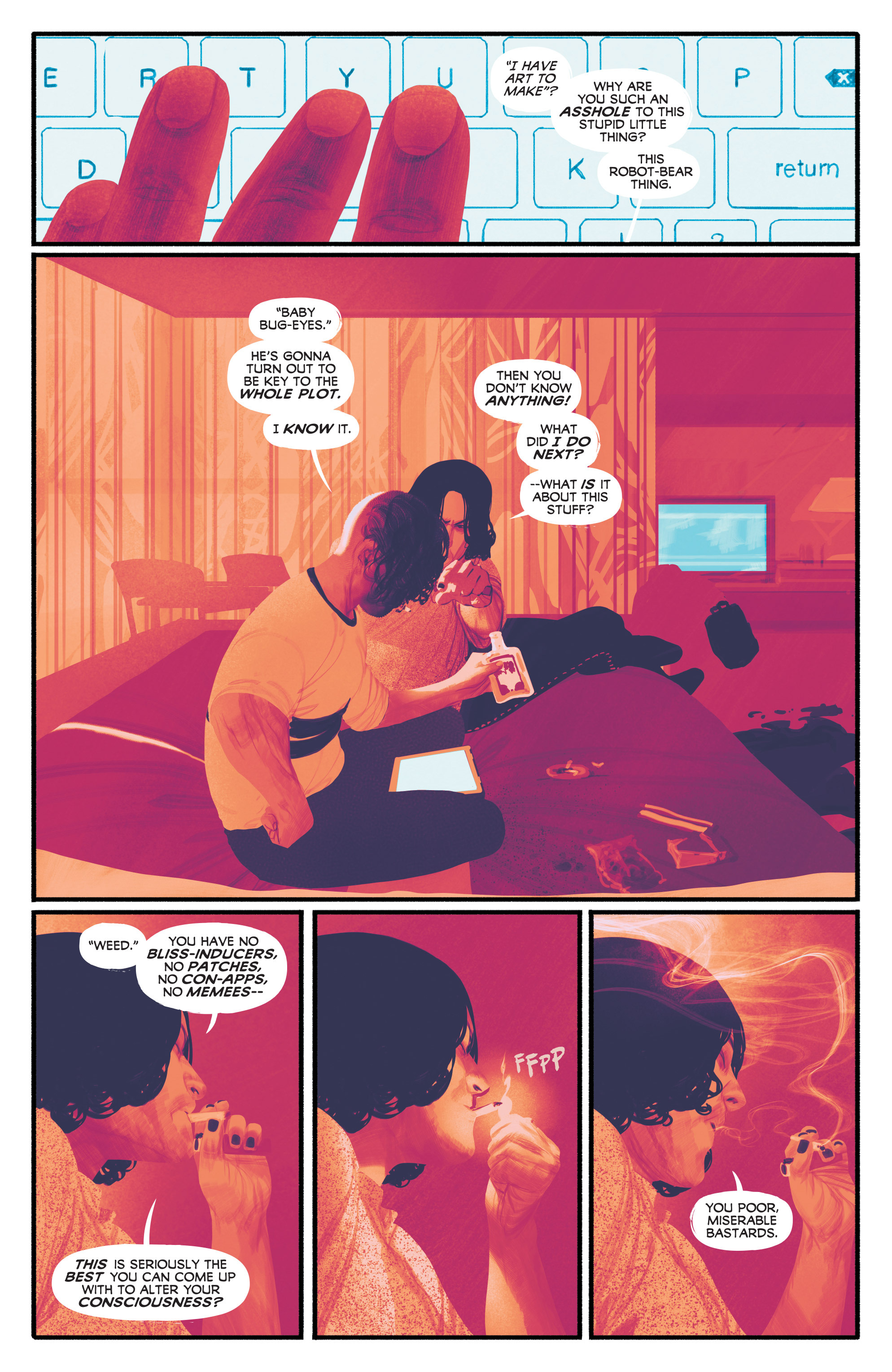 Read online Annihilator comic -  Issue #3 - 8