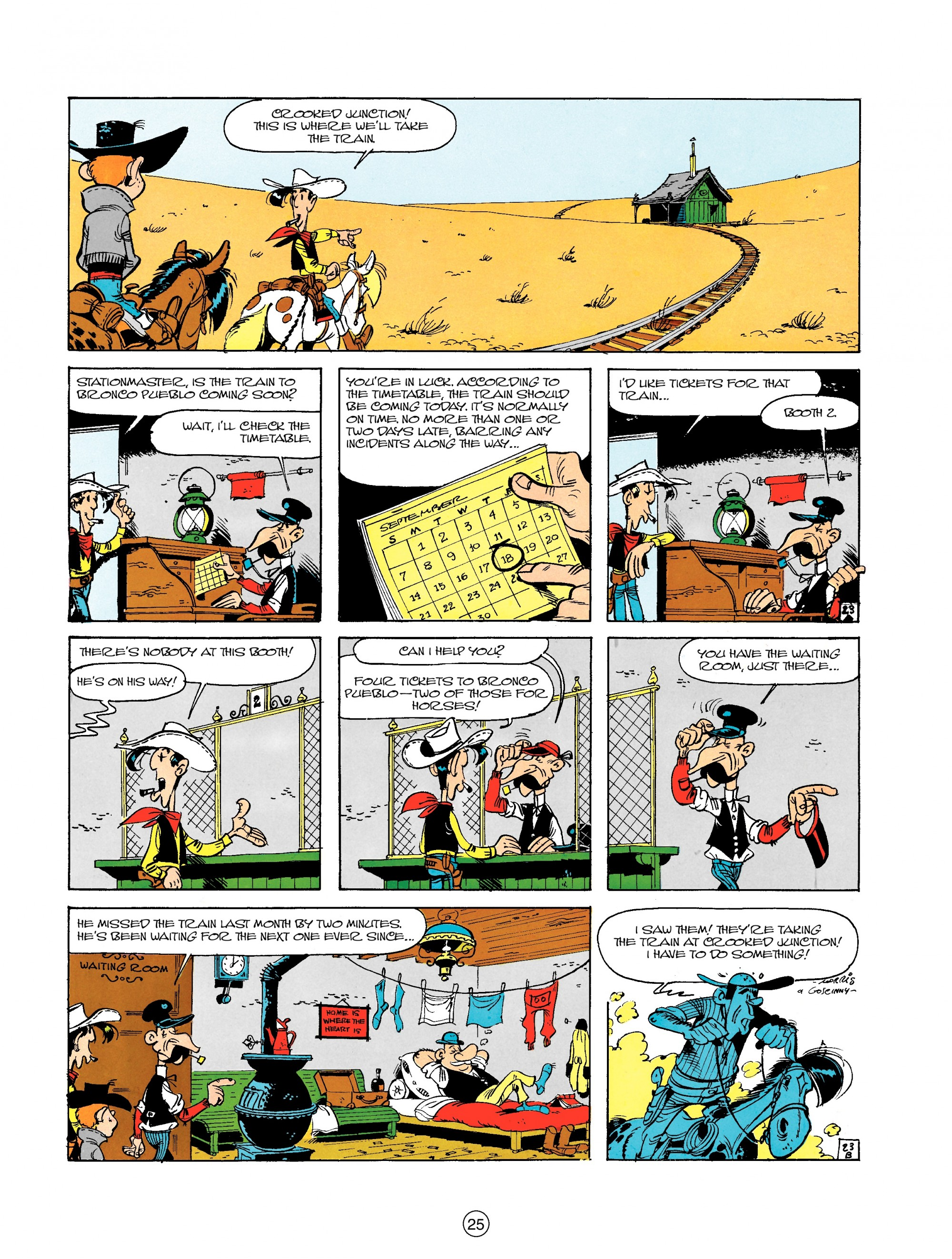 Read online A Lucky Luke Adventure comic -  Issue #18 - 25